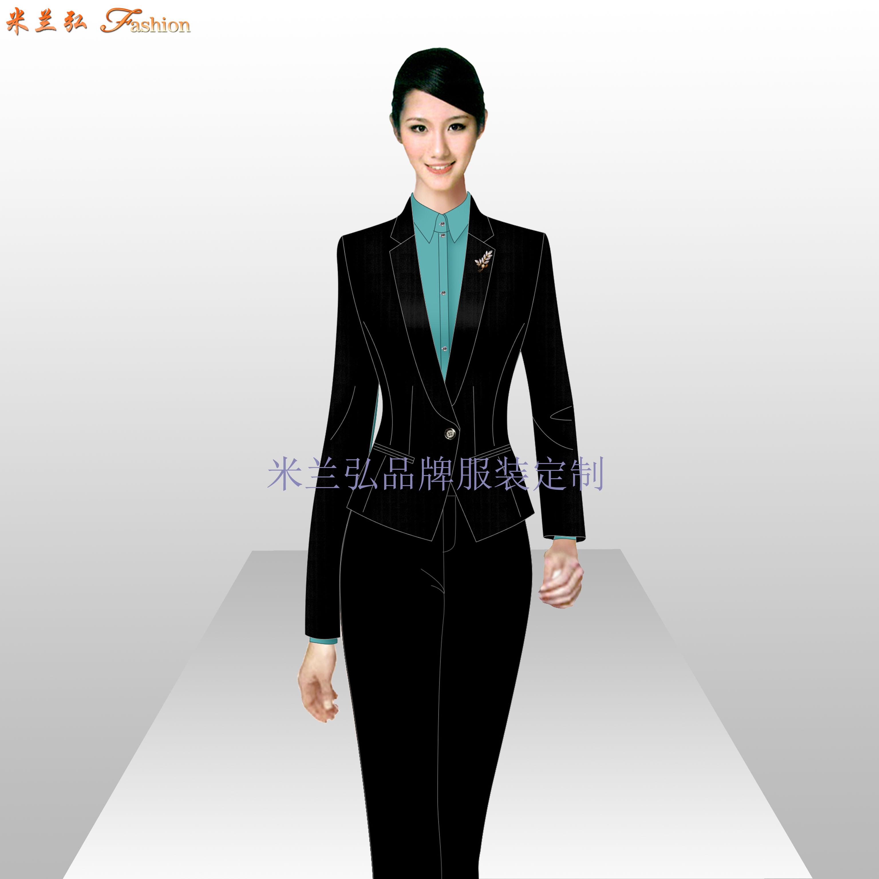 定制西裝-正裝西裝量身定做-米蘭弘服裝廠家-5