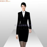 銀行辦公室職業裝_銀行工作服訂做-米蘭弘服裝廠家-3