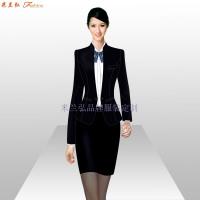 銀行辦公室職業裝_銀行工作服訂做-米蘭弘服裝廠家-4