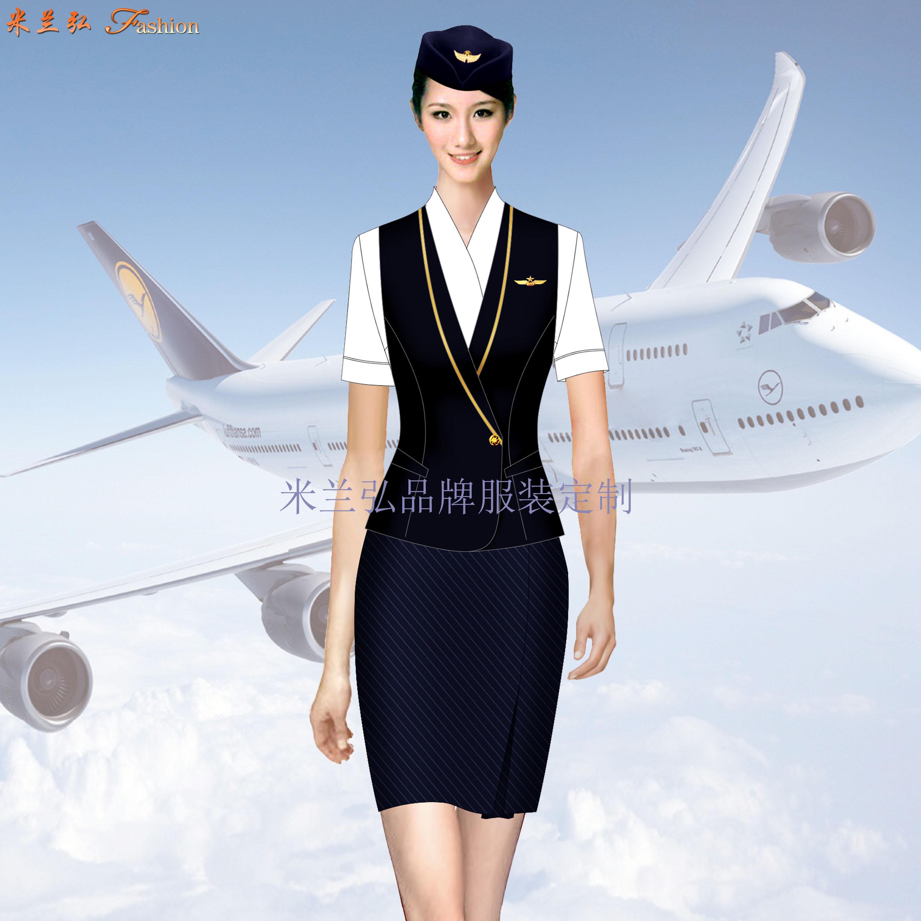 「女裝空姐服定做」定做空姐服廠家-米蘭弘品牌服裝-2