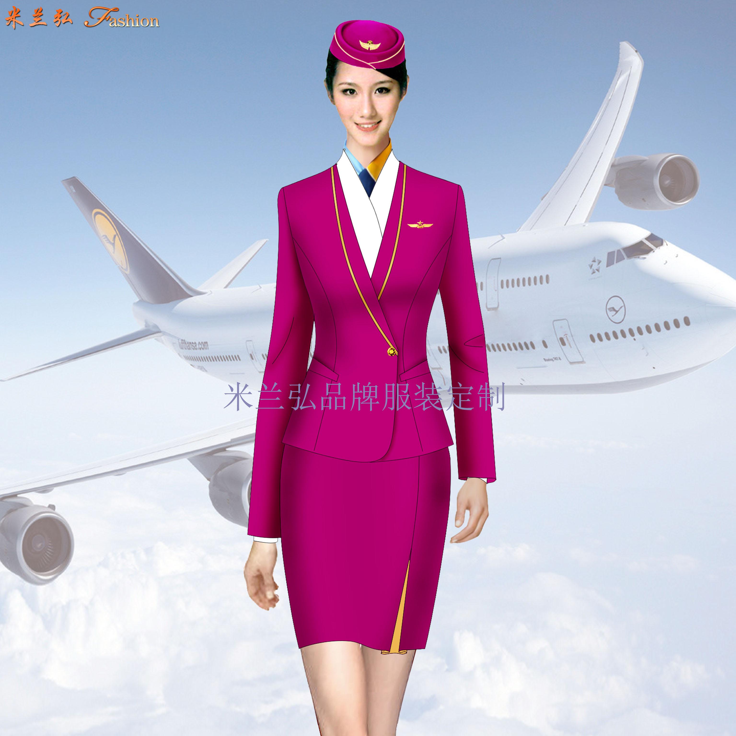 「女裝空姐服定做」定做空姐服廠家-米蘭弘品牌服裝-4