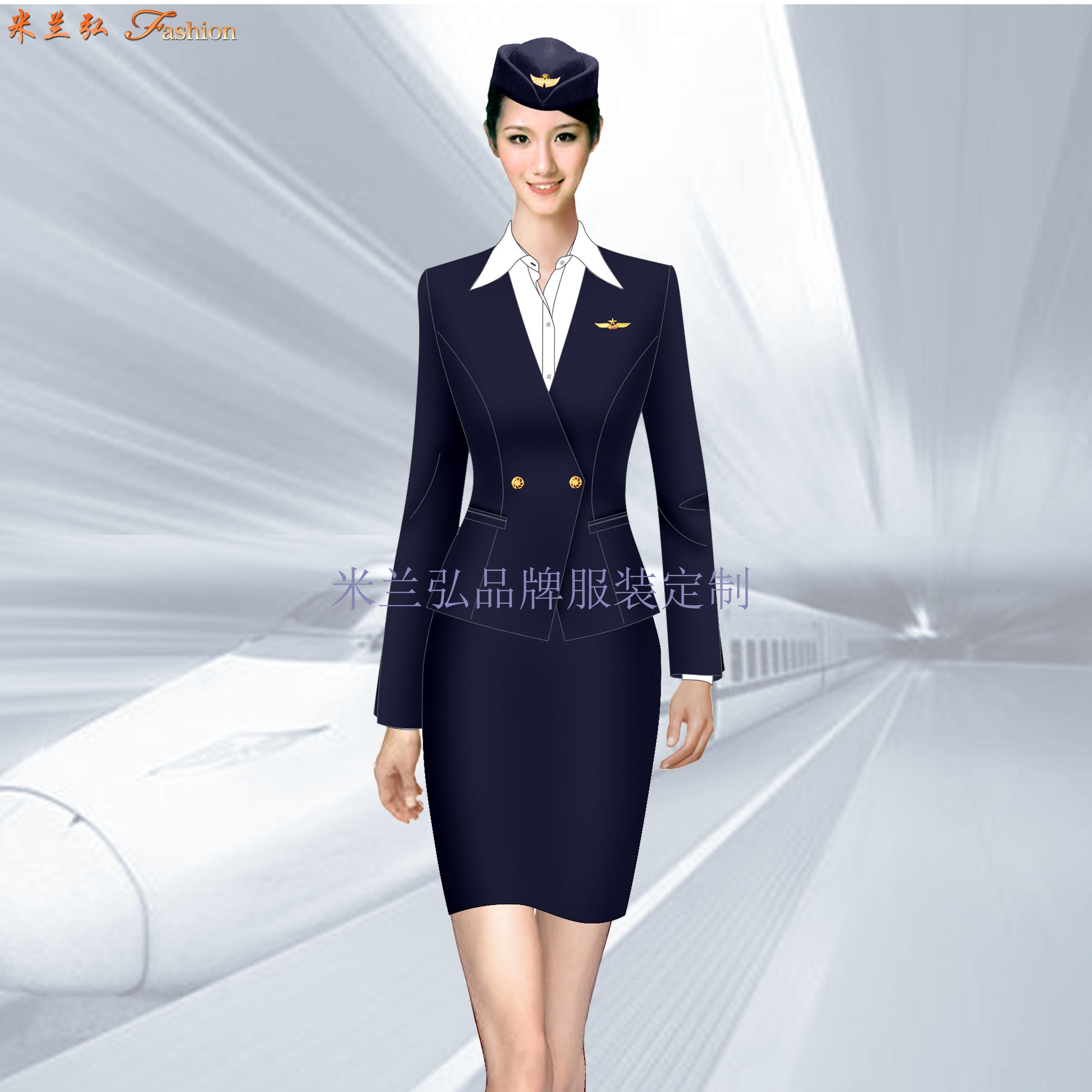 「女裝空姐服定做」定做空姐服廠家-米蘭弘品牌服裝-5