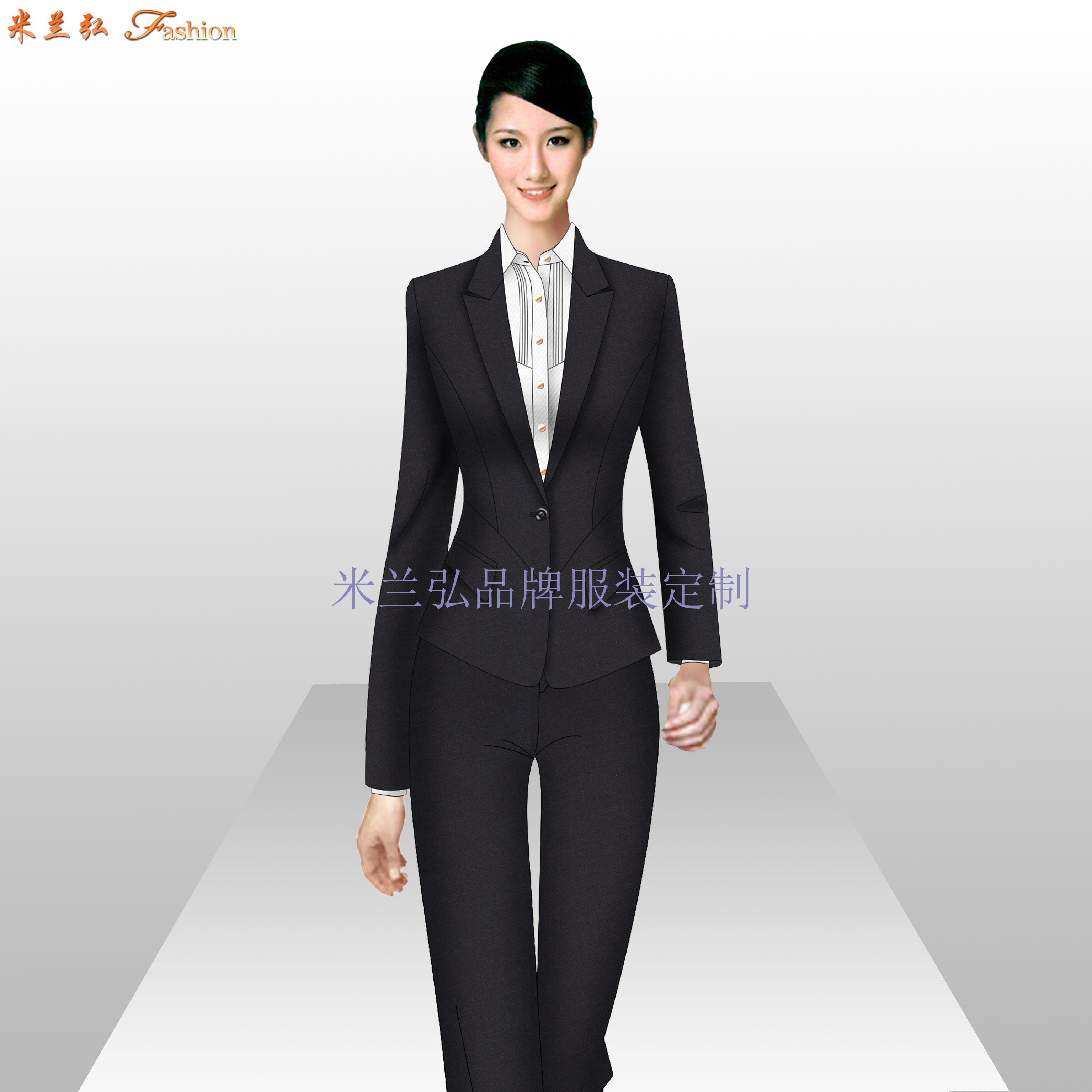 銀行服裝定做_金融機構正裝量身定制-米蘭弘服裝廠家-2