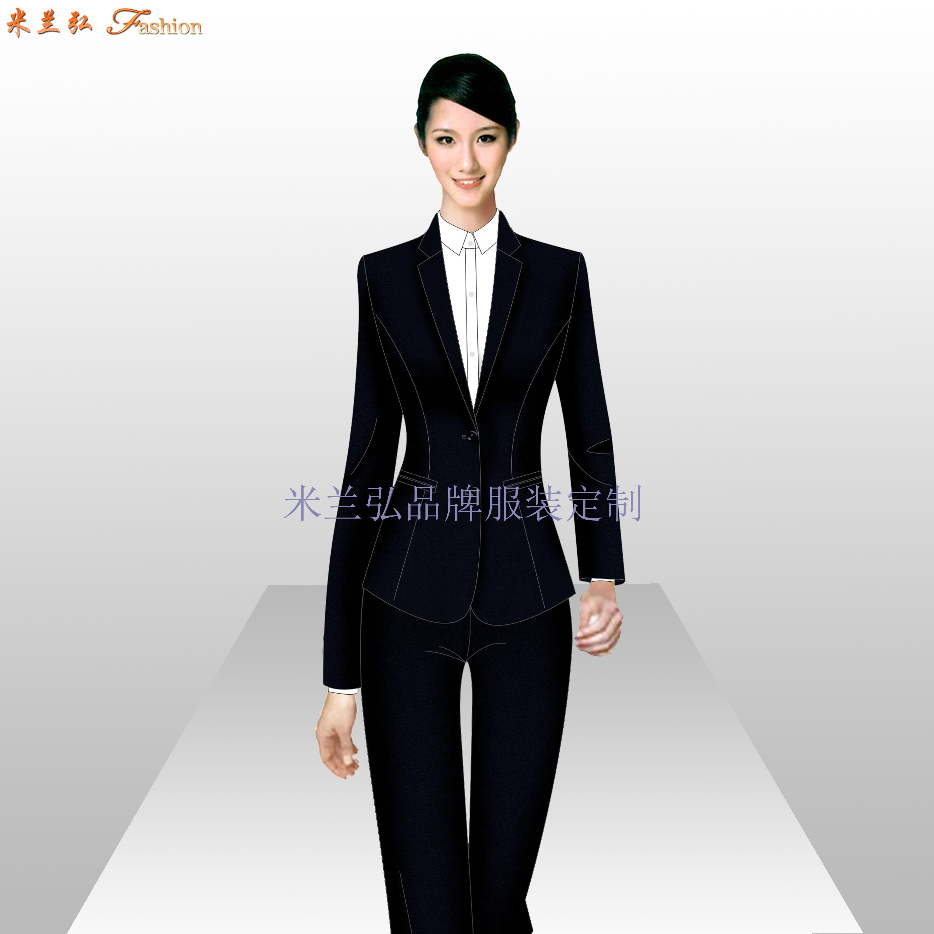 銀行服裝定做_金融機構正裝量身定制-米蘭弘服裝廠家-4