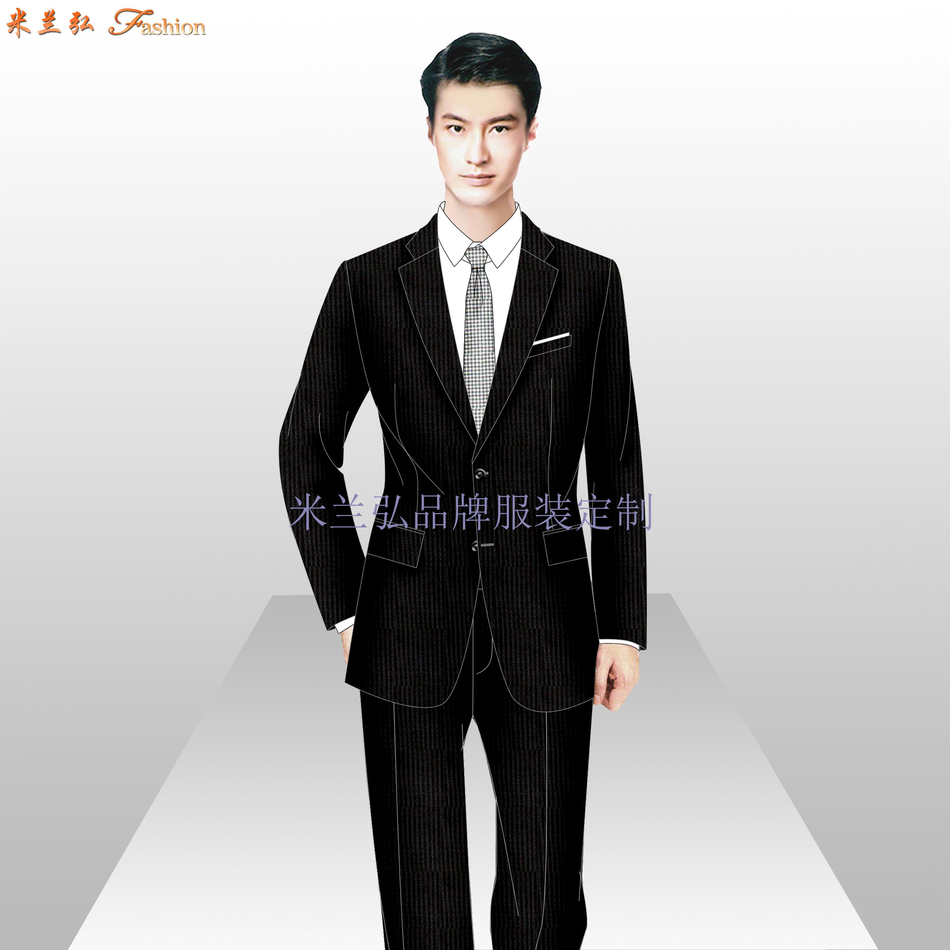 銀行服裝定做_金融機構正裝量身定制-米蘭弘服裝廠家-5