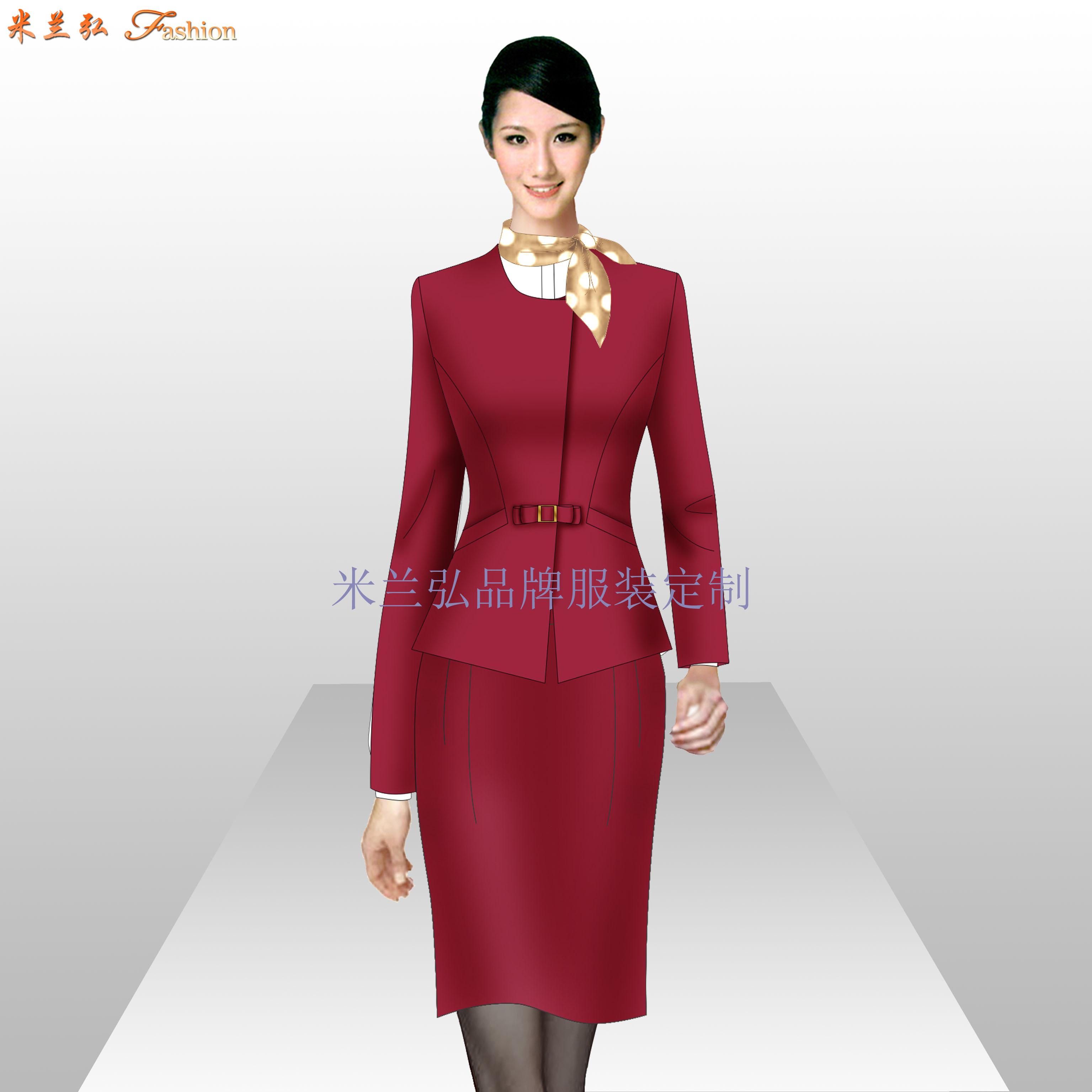 銀行服裝定做_金融機構正裝量身定制-米蘭弘服裝廠家-1