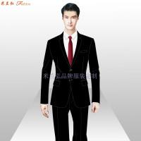 「定制工作服西服」北京西服定做公司-米蘭弘服裝廠家-3