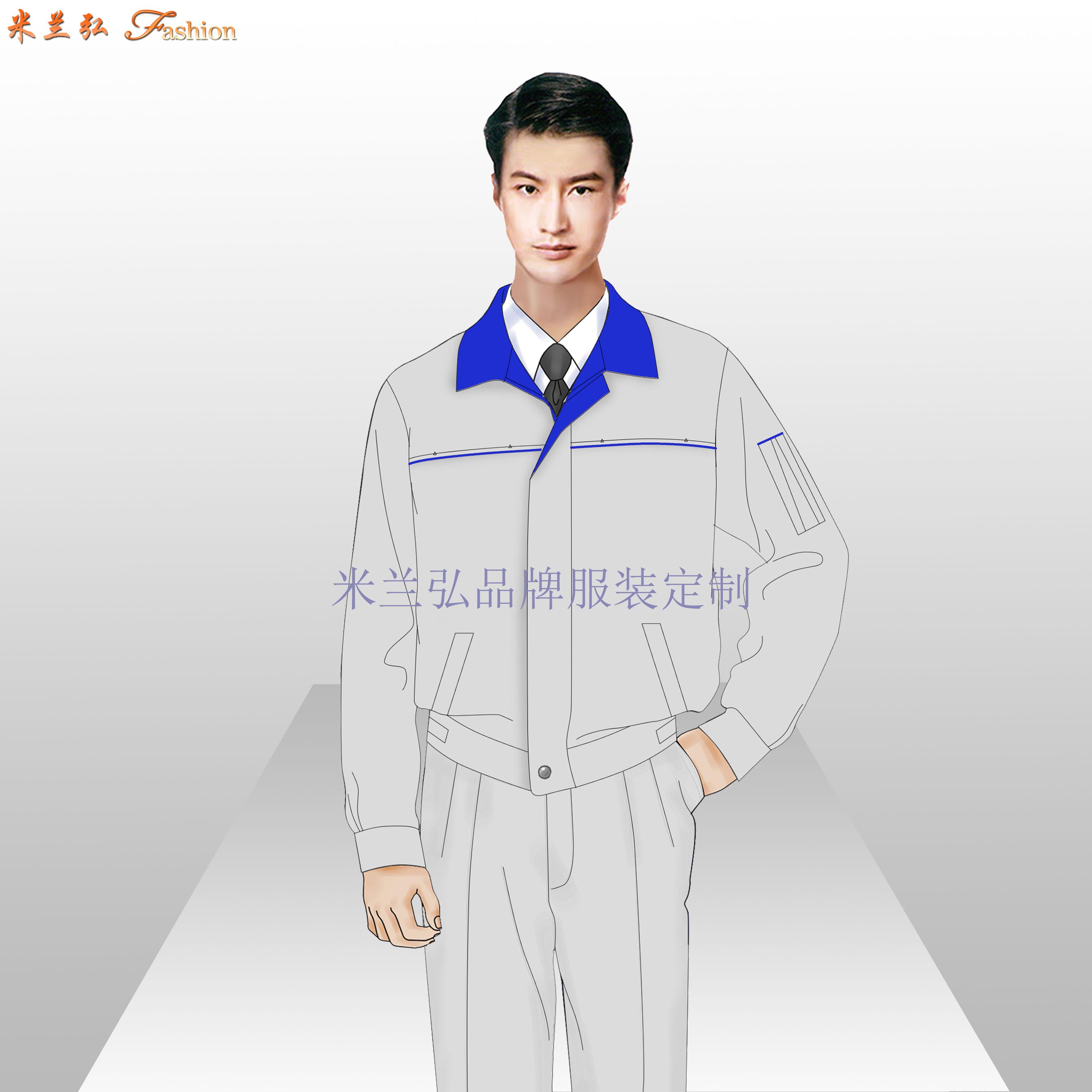 「定做工作服裝廠家」服裝定制源頭廠家-米蘭弘服裝-1