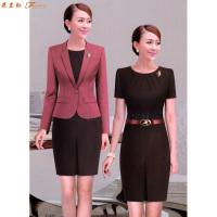 「女式西服職業裝」連衣職業裝套裙-米蘭弘服裝廠家-2