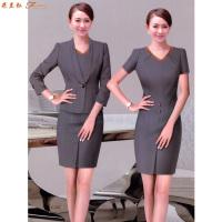 「女式西服職業裝」連衣職業裝套裙-米蘭弘服裝廠家-3