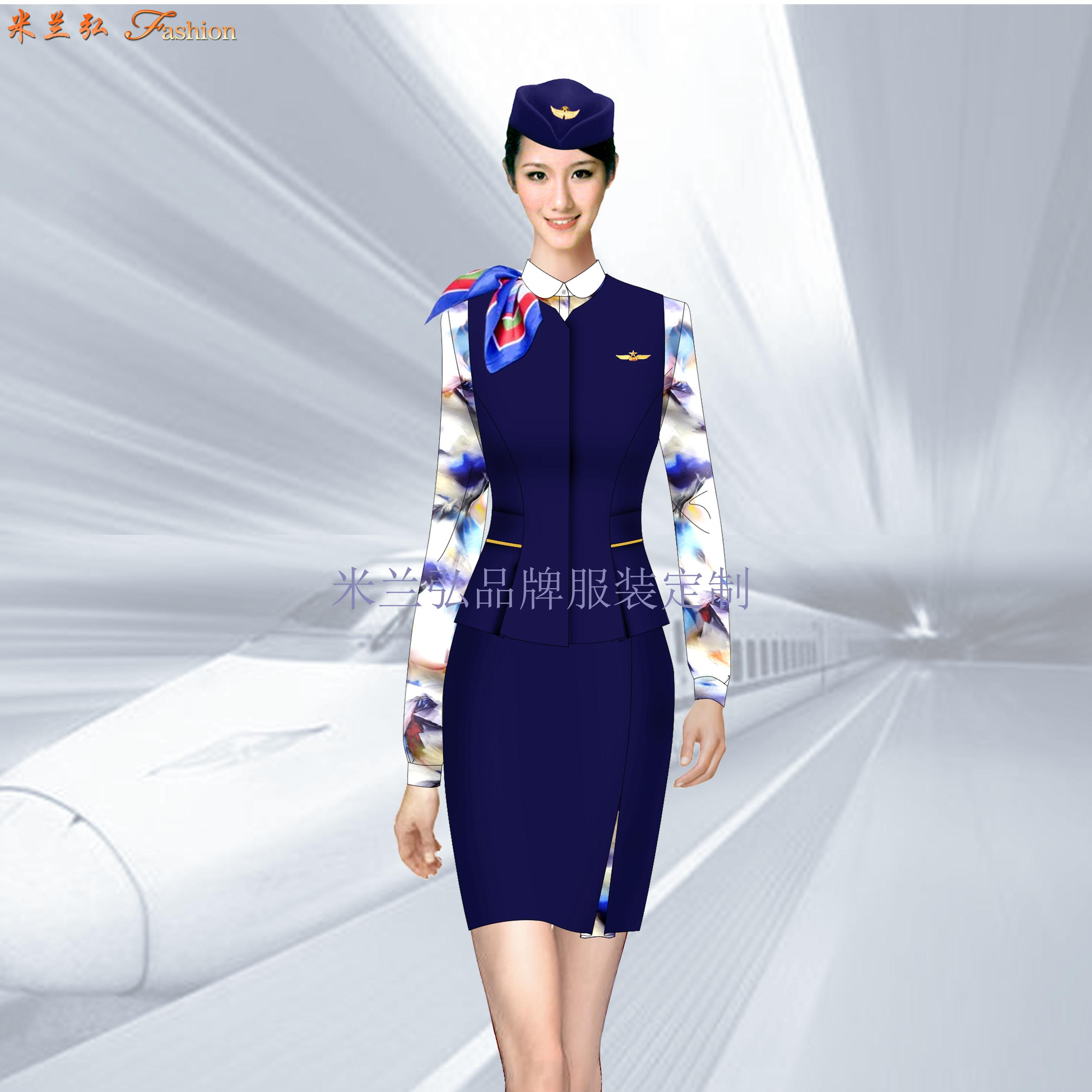 「鐵路正規工作服」高鐵工作服公司-米蘭弘服裝廠家-2