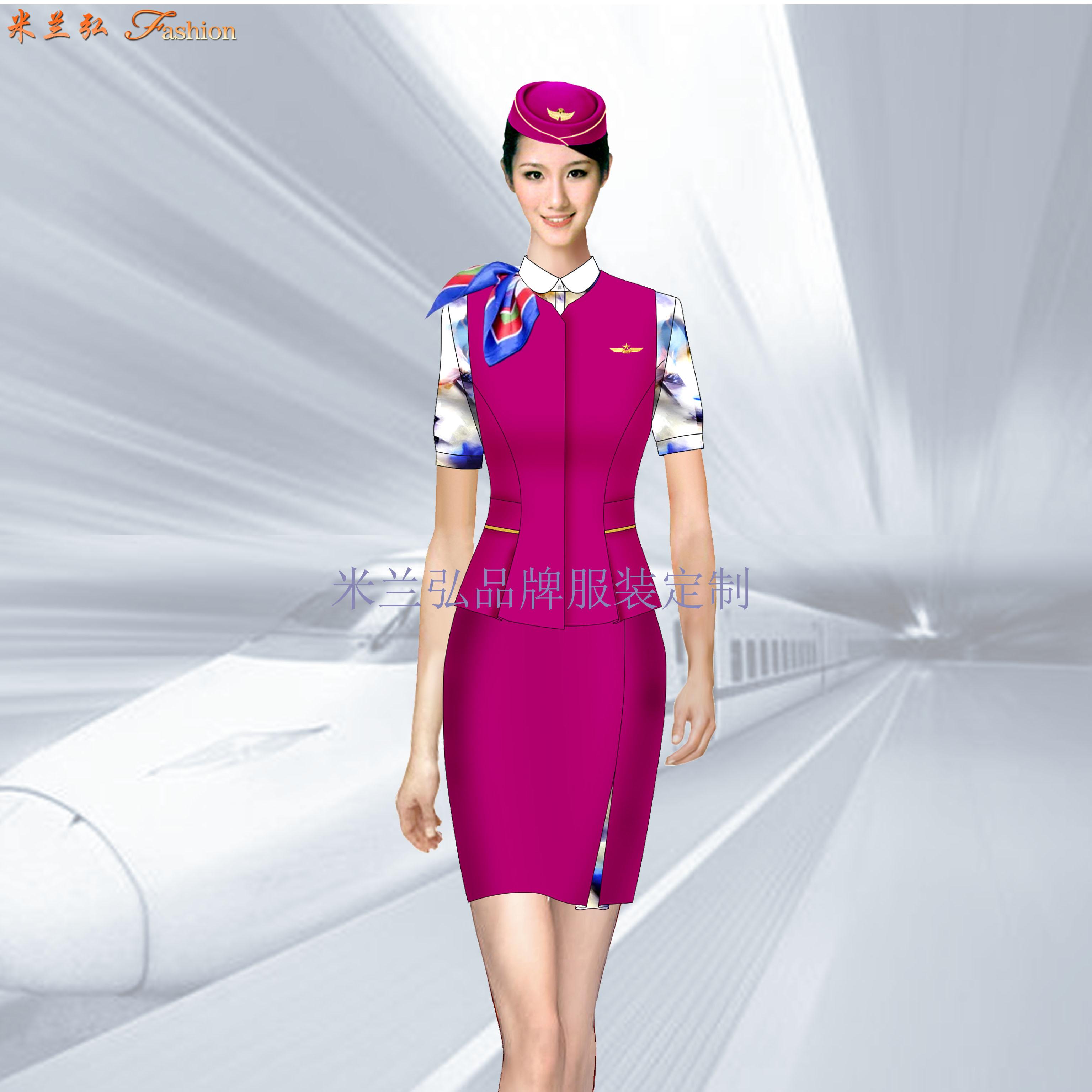 「鐵路正規工作服」高鐵工作服公司-米蘭弘服裝廠家-5