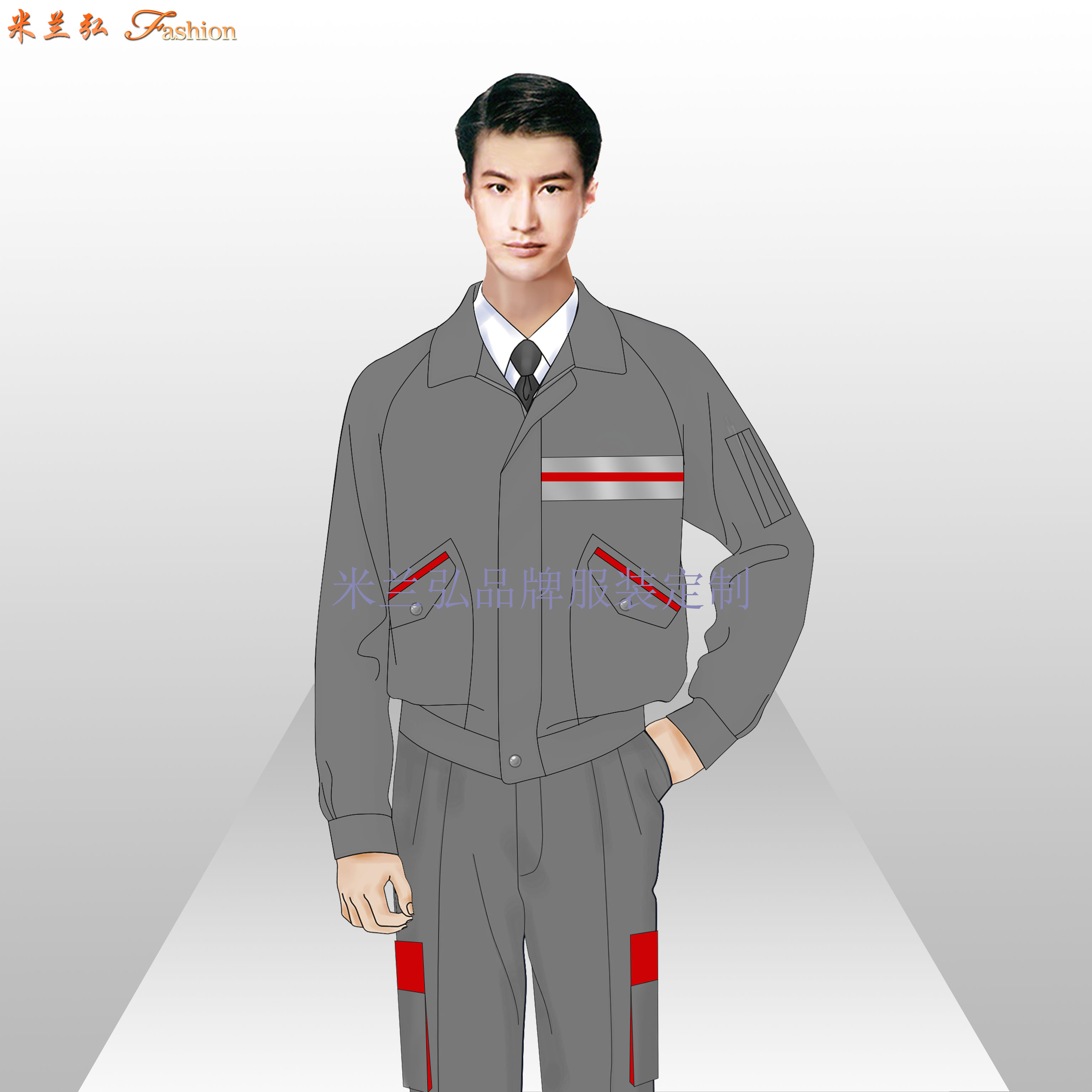 貴陽工作服定制_貴陽工程服訂做-米蘭弘服裝廠家-2