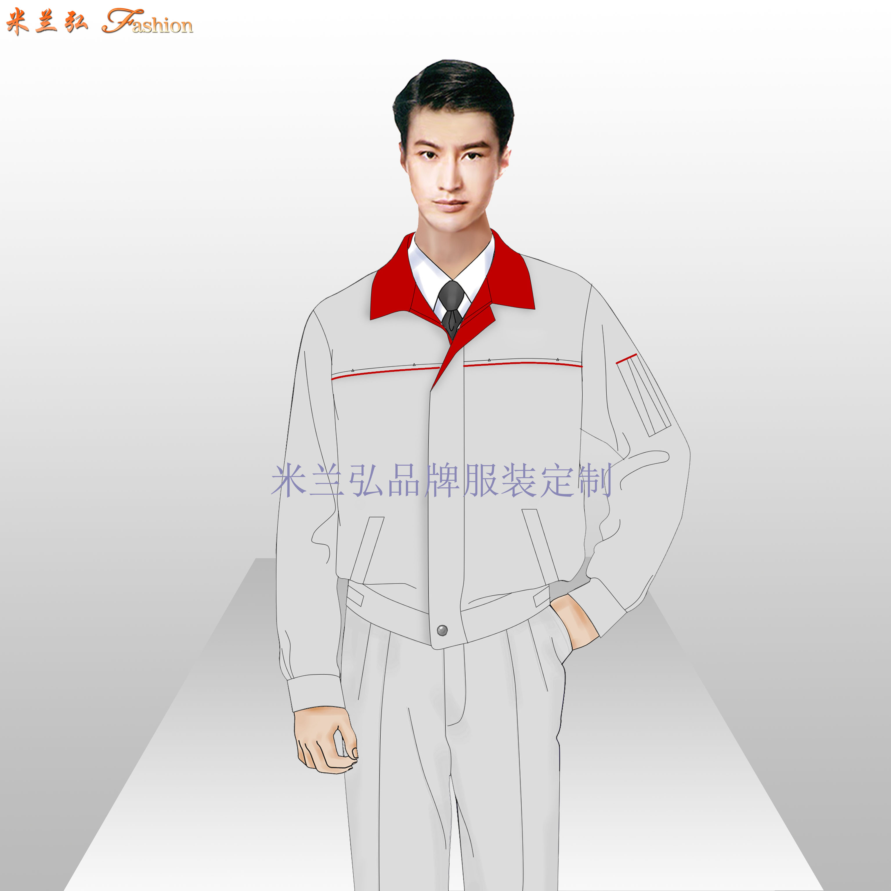 貴陽工作服定制_貴陽工程服訂做-米蘭弘服裝廠家-4