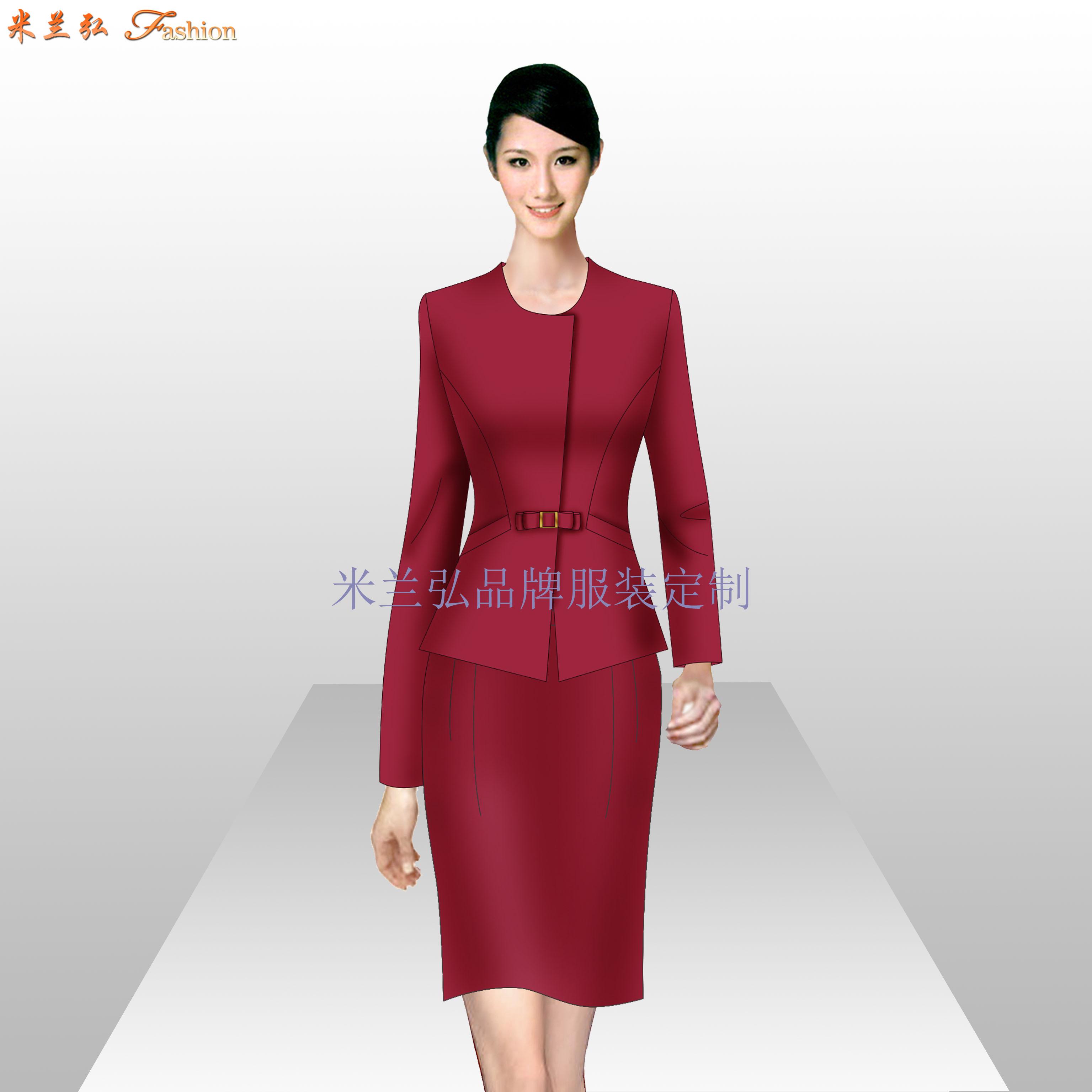 貴州職業裝定做-男女士職業裝訂做廠家-米蘭弘服裝-3