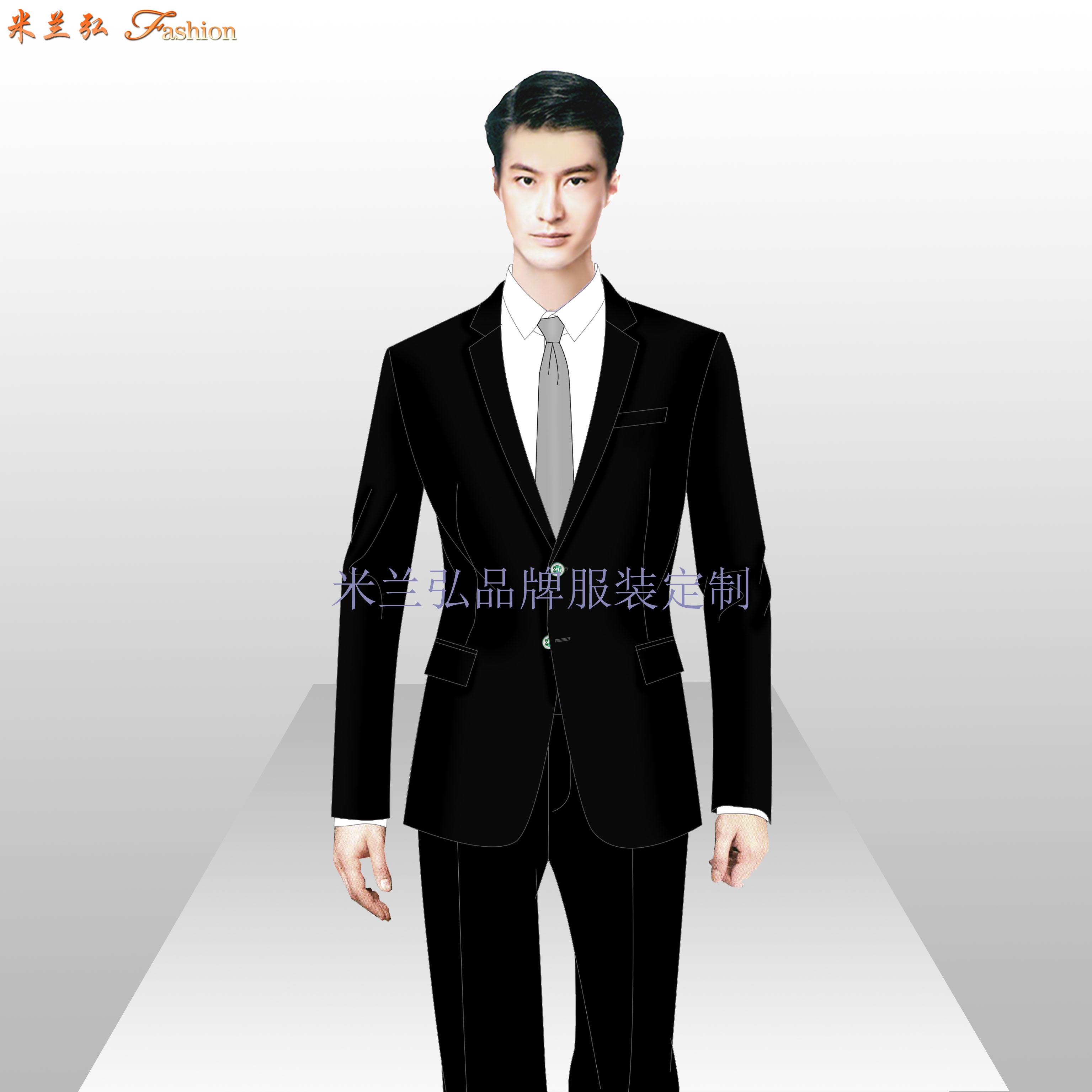 貴州職業裝定做-男女士職業裝訂做廠家-米蘭弘服裝-5