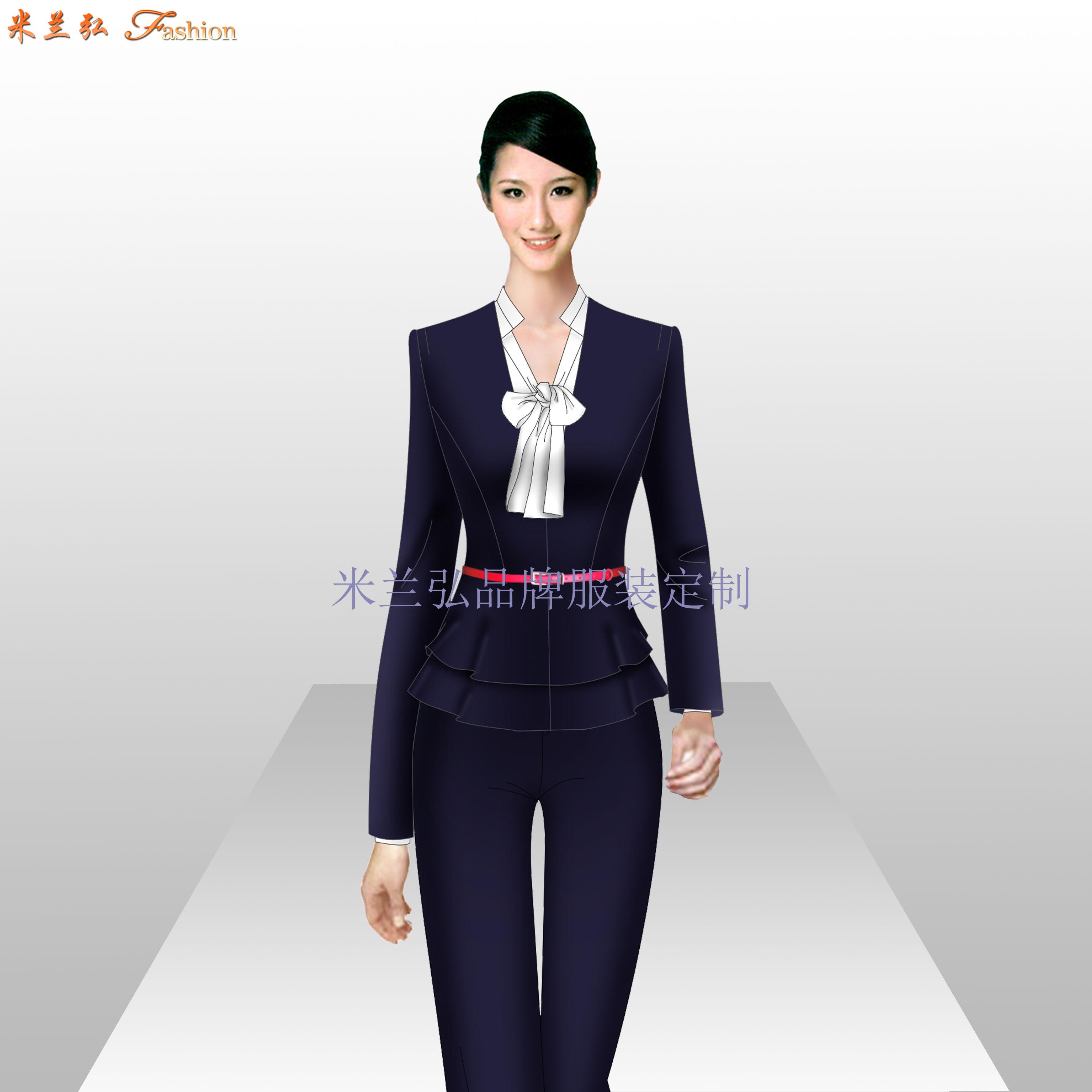 貴州職業裝定做-男女士職業裝訂做廠家-米蘭弘服裝-1