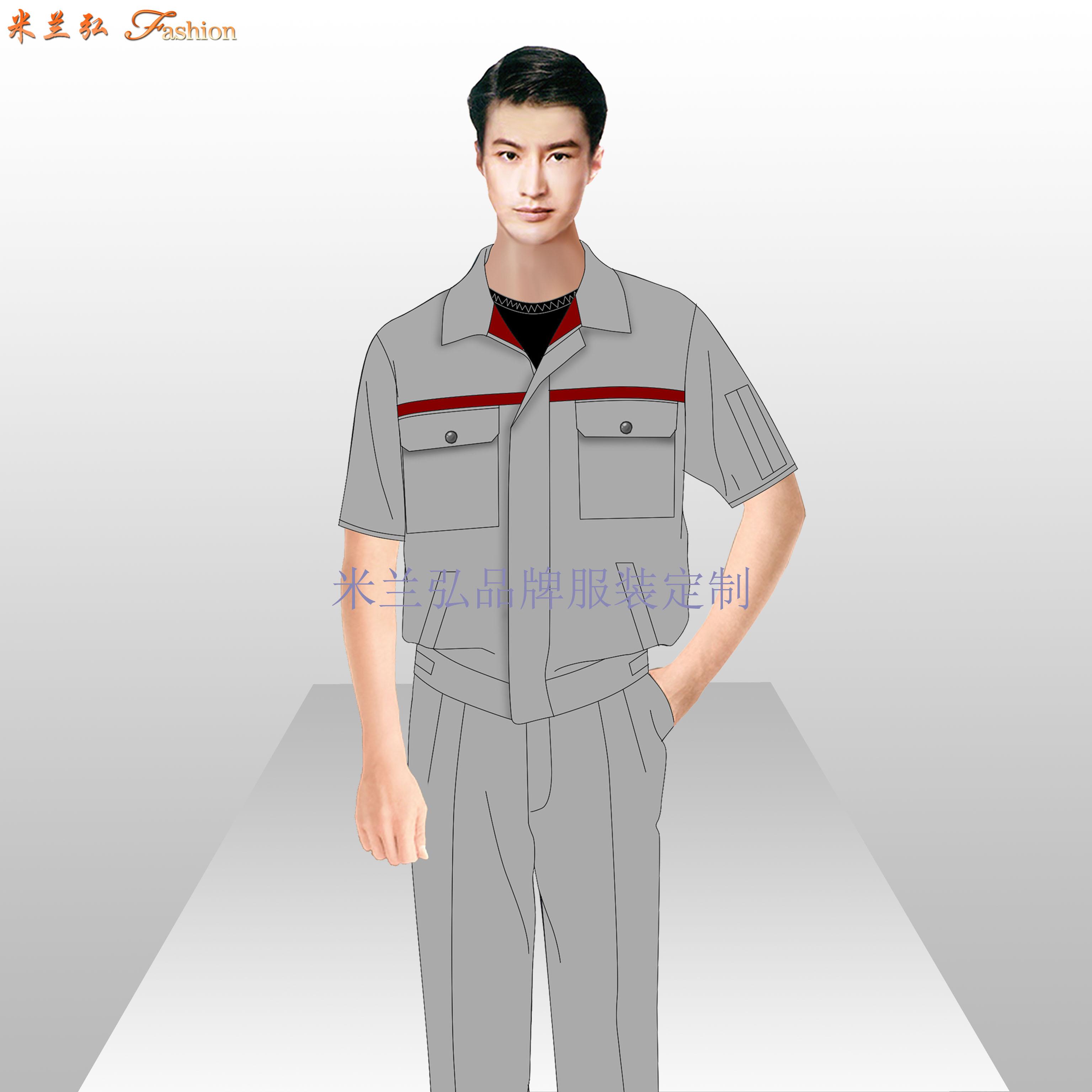 貴州工作服廠家-工作服定做價格圖片-米蘭弘服裝-2