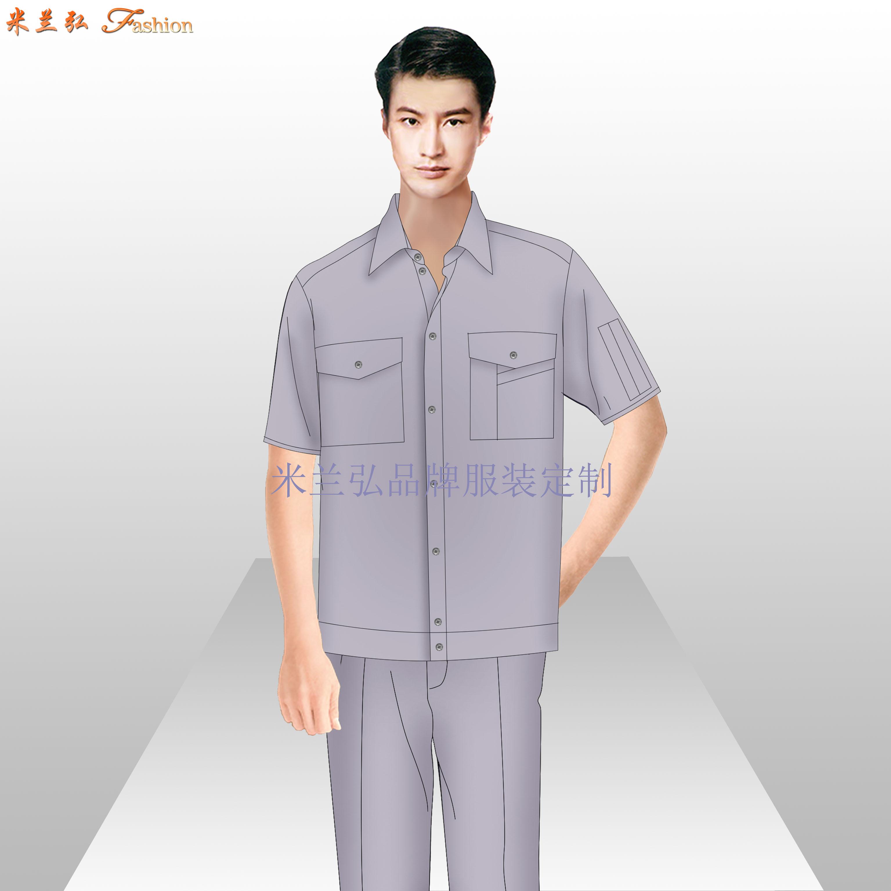 貴州工作服廠家-工作服定做價格圖片-米蘭弘服裝-4