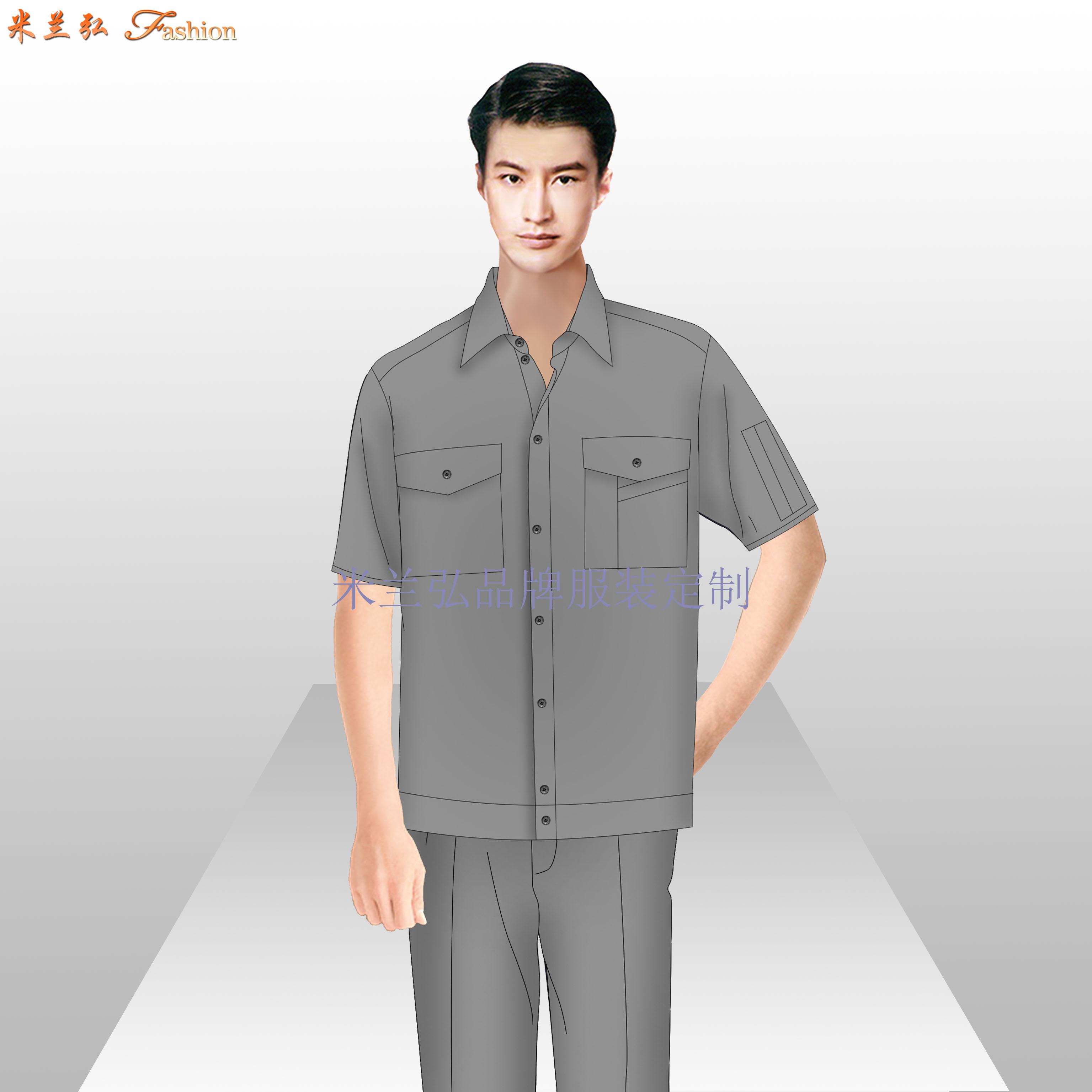 貴州工作服廠家-工作服定做價格圖片-米蘭弘服裝-5