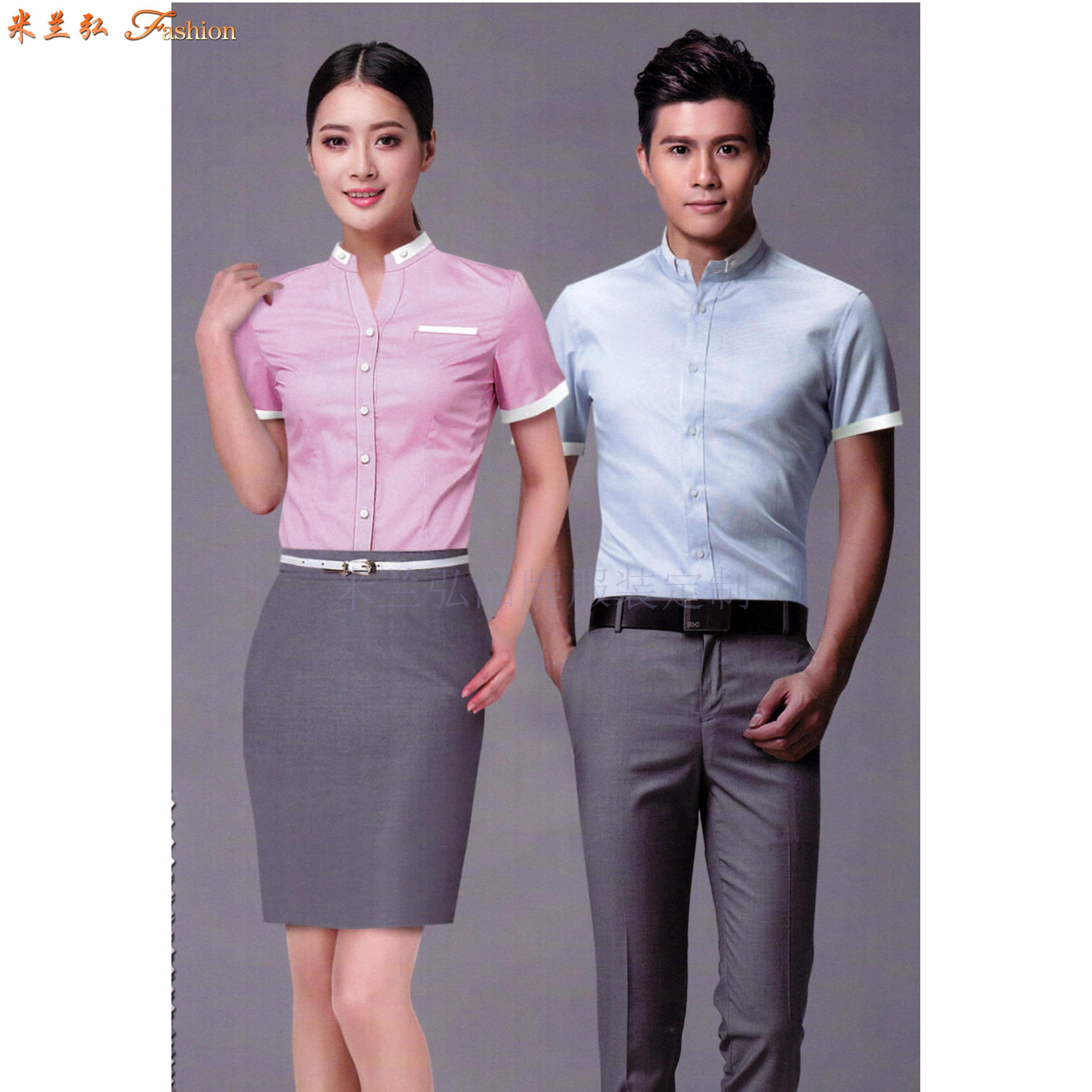 貴州定做襯衫-量體定制工裝襯衫廠家-米蘭弘服裝-2