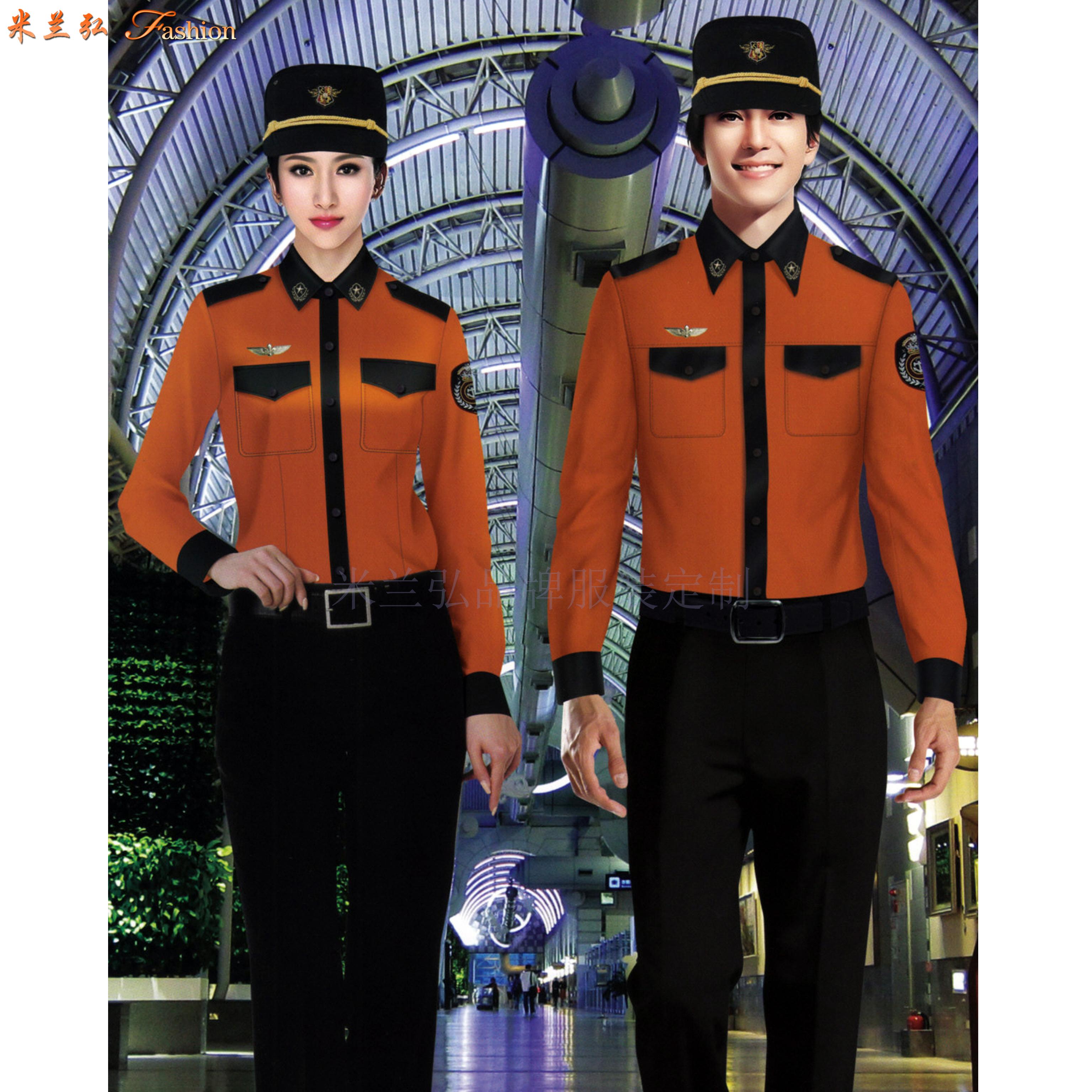 貴州保安服定做-保安服直銷廠家價格-米蘭弘服裝-4