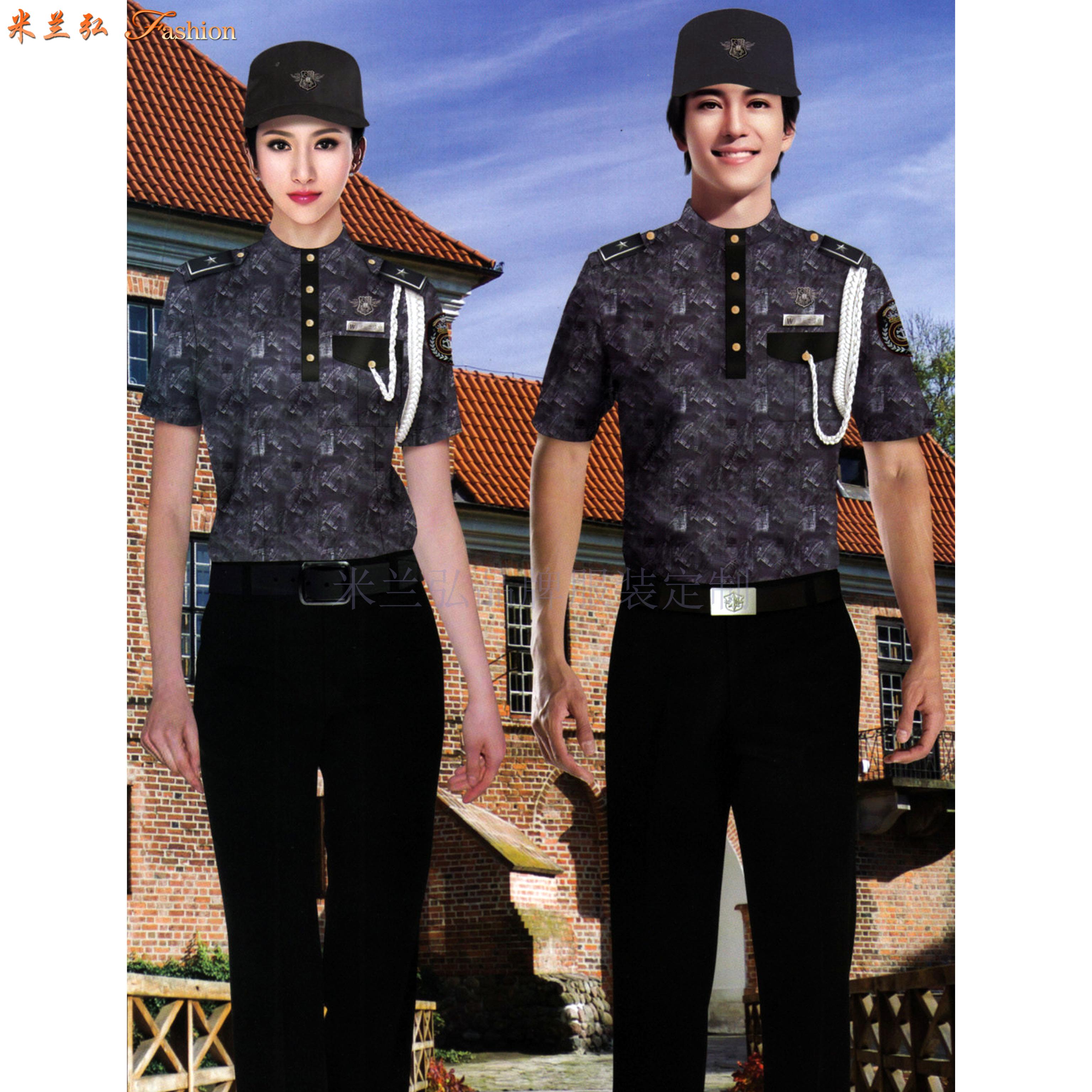 貴州保安服定做-保安服直銷廠家價格-米蘭弘服裝-5