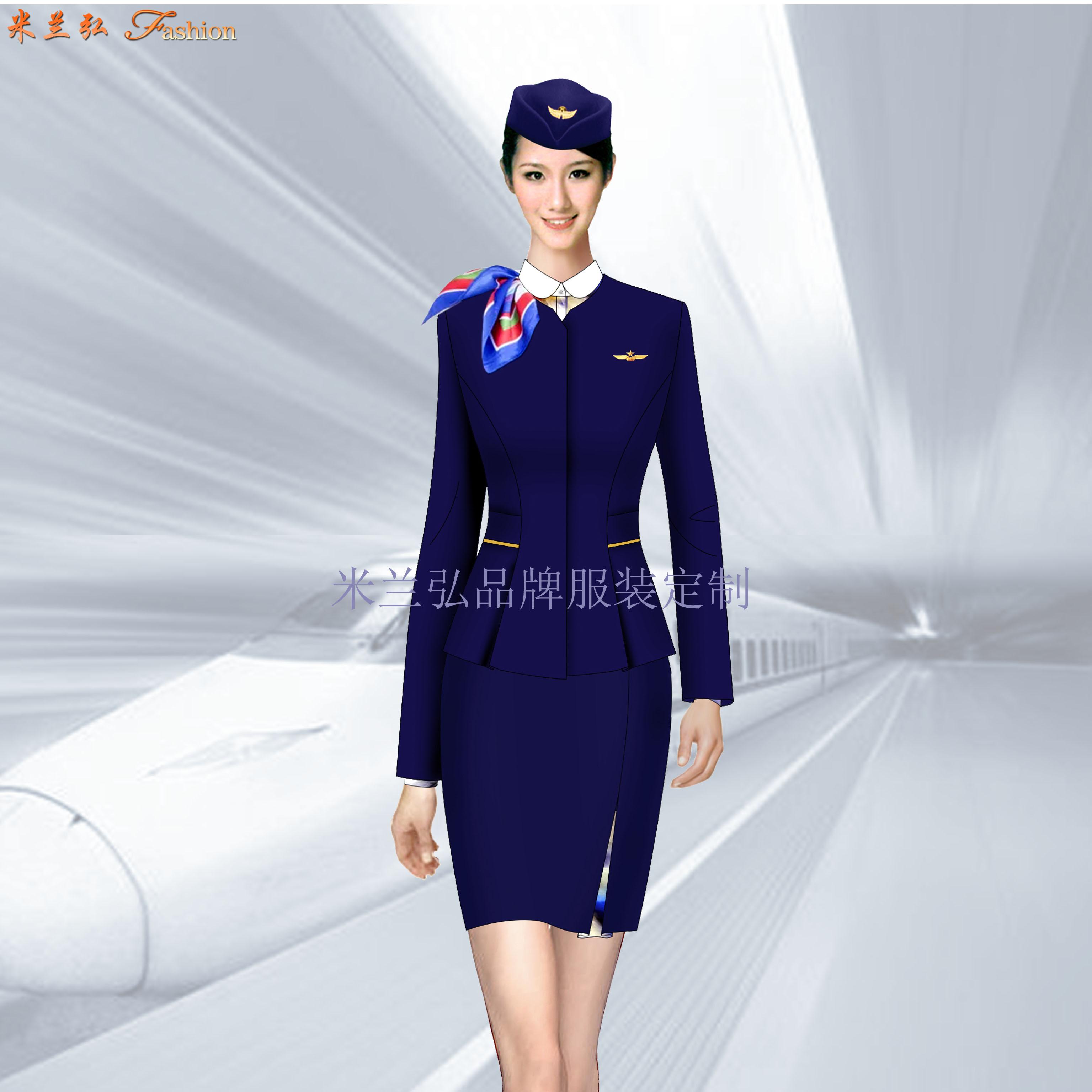 貴州空姐服定製-畢節機場機務服定做-湖北快3廠家-3