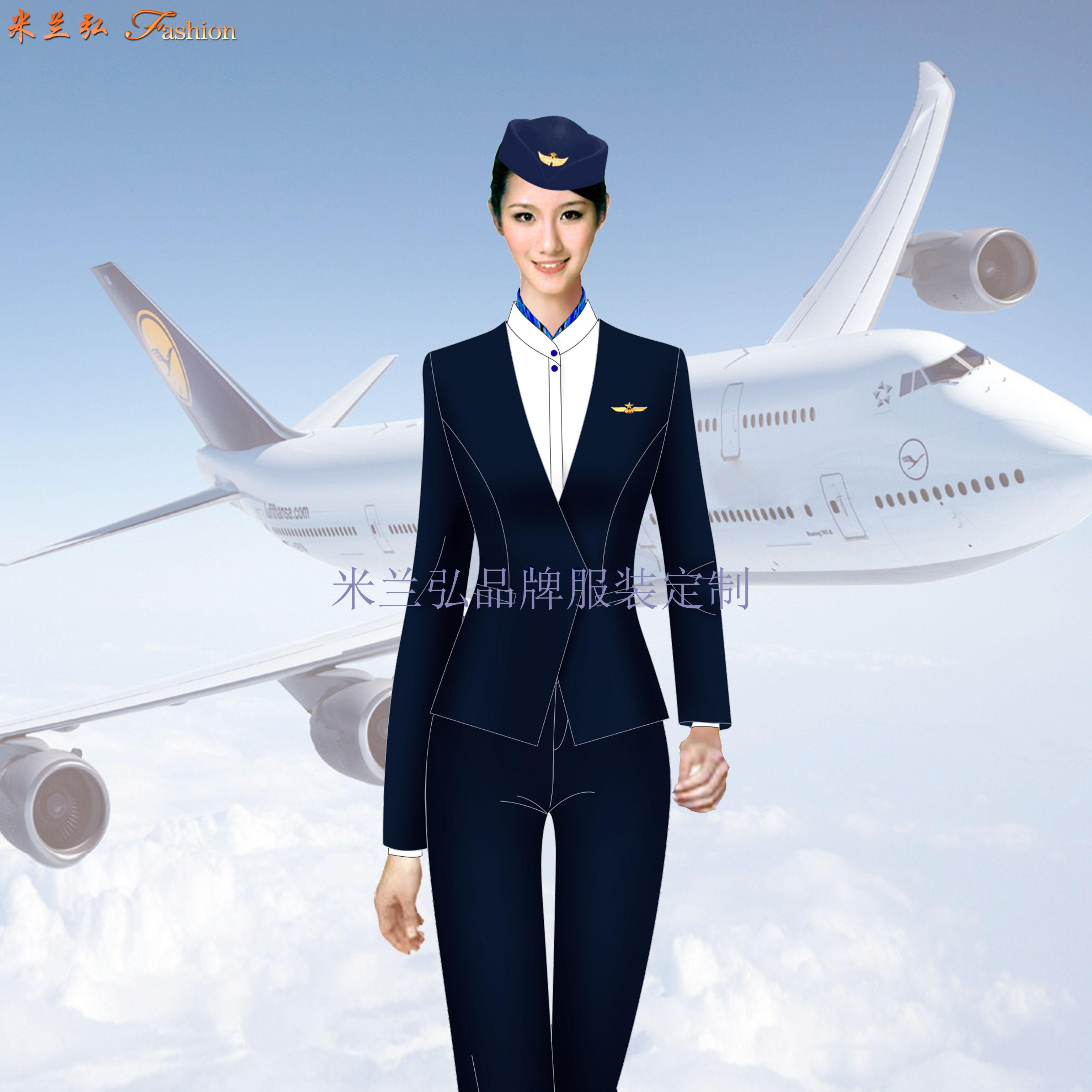 汽車站服裝定做-長途汽車站女式西服職業裝-米蘭弘服裝廠家-3