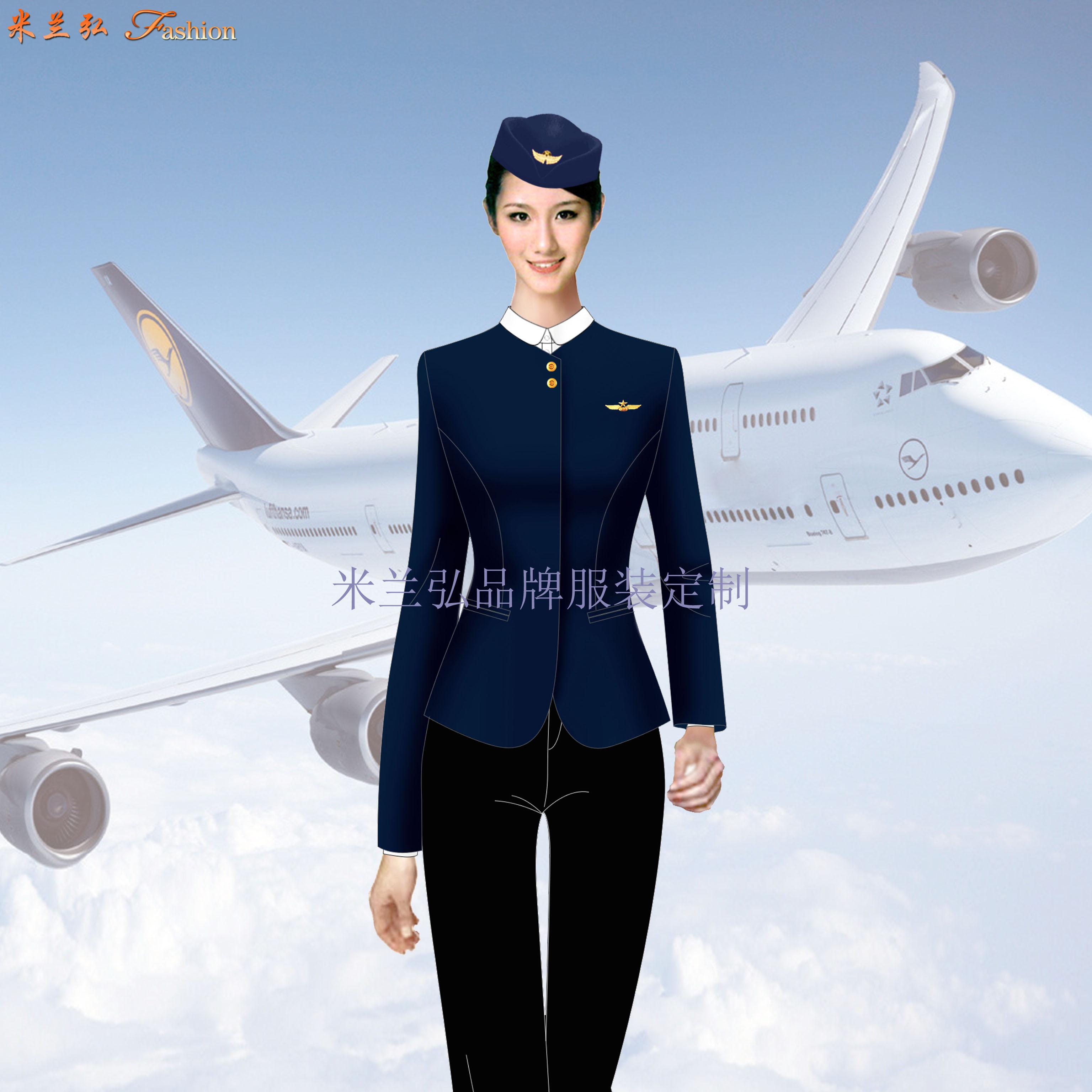 汽車站服裝定做-長途汽車站女式西服職業裝-米蘭弘服裝廠家-4