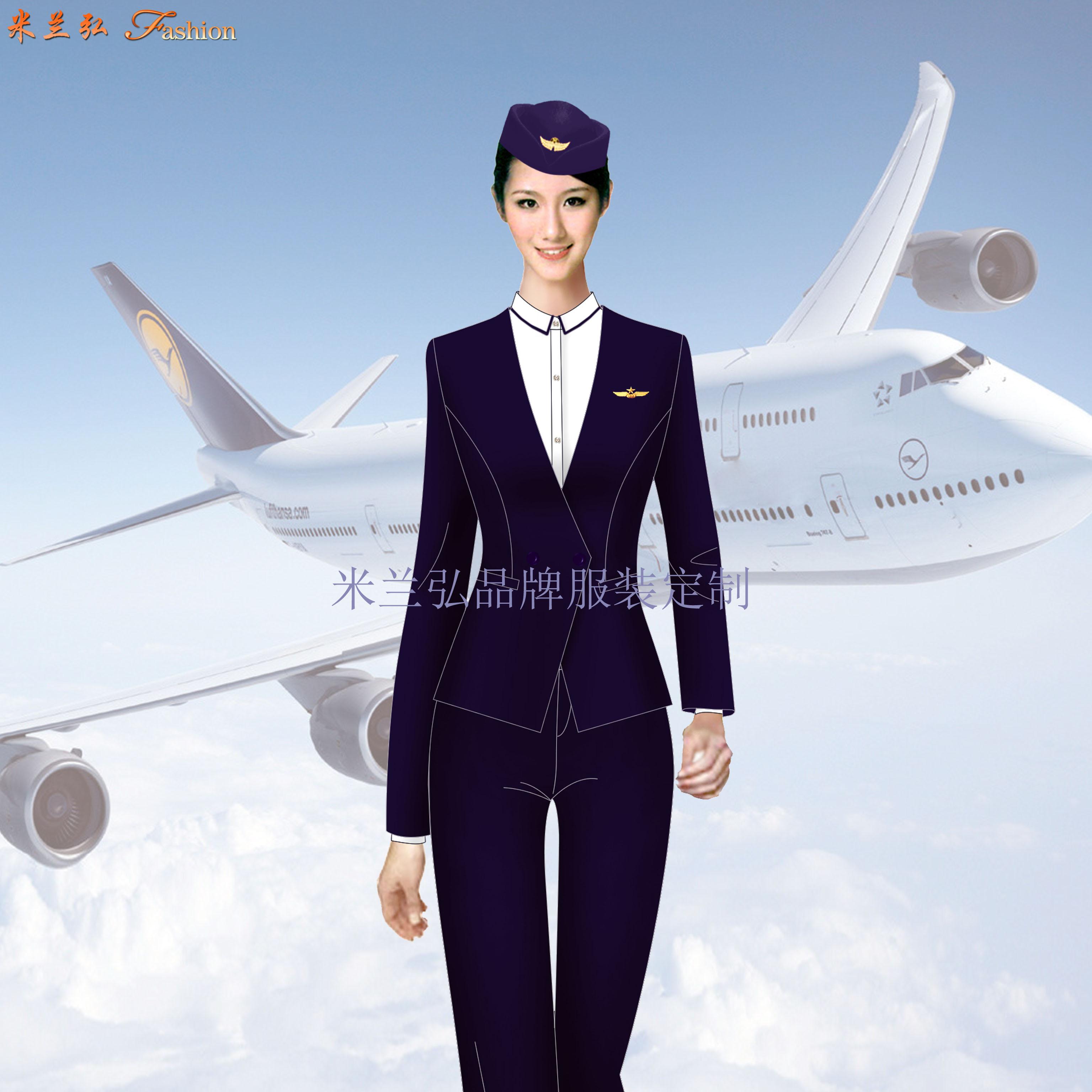 汽車站服裝定做-長途汽車站女式西服職業裝-米蘭弘服裝廠家-5