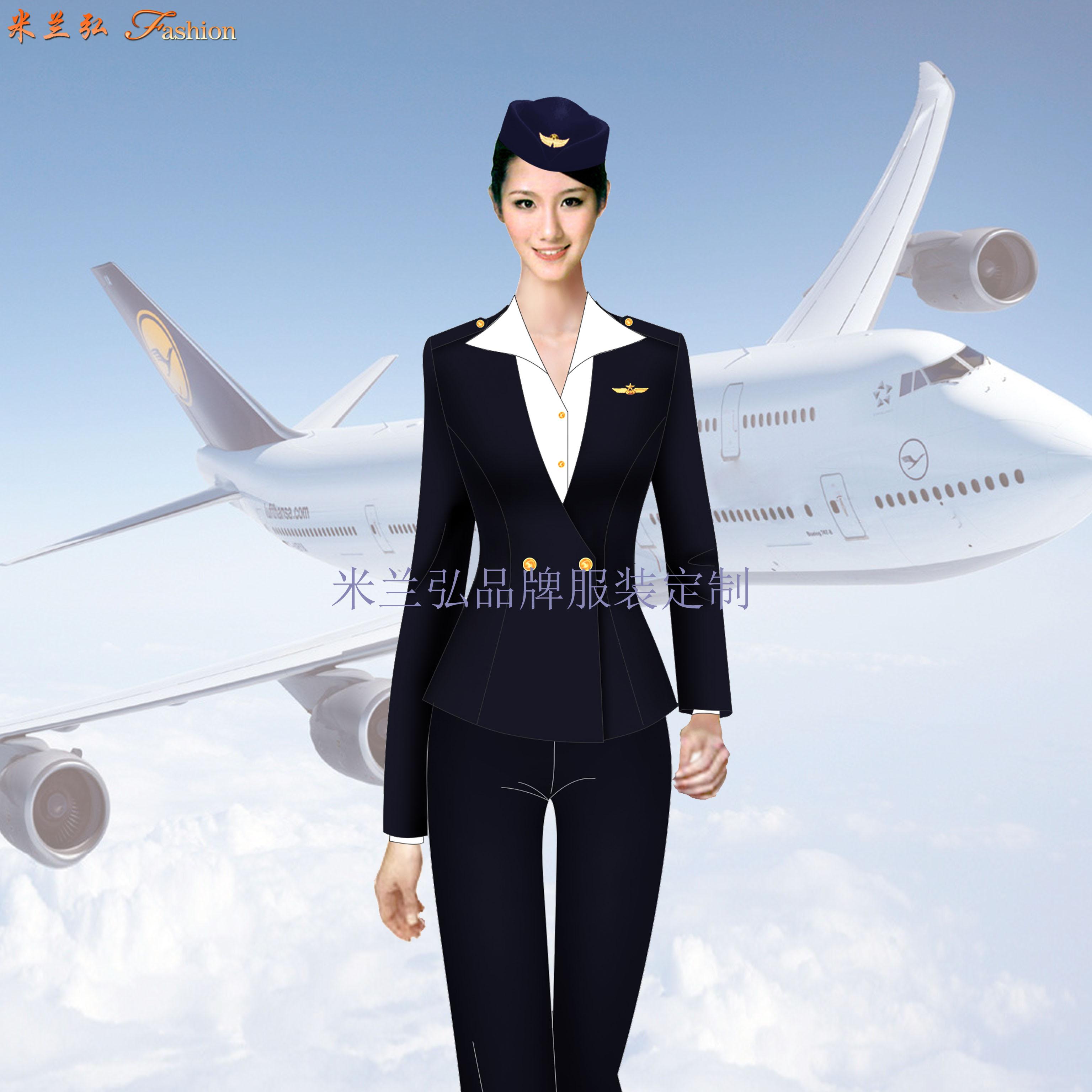 汽車站服裝定做-長途汽車站女式西服職業裝-米蘭弘服裝廠家-1