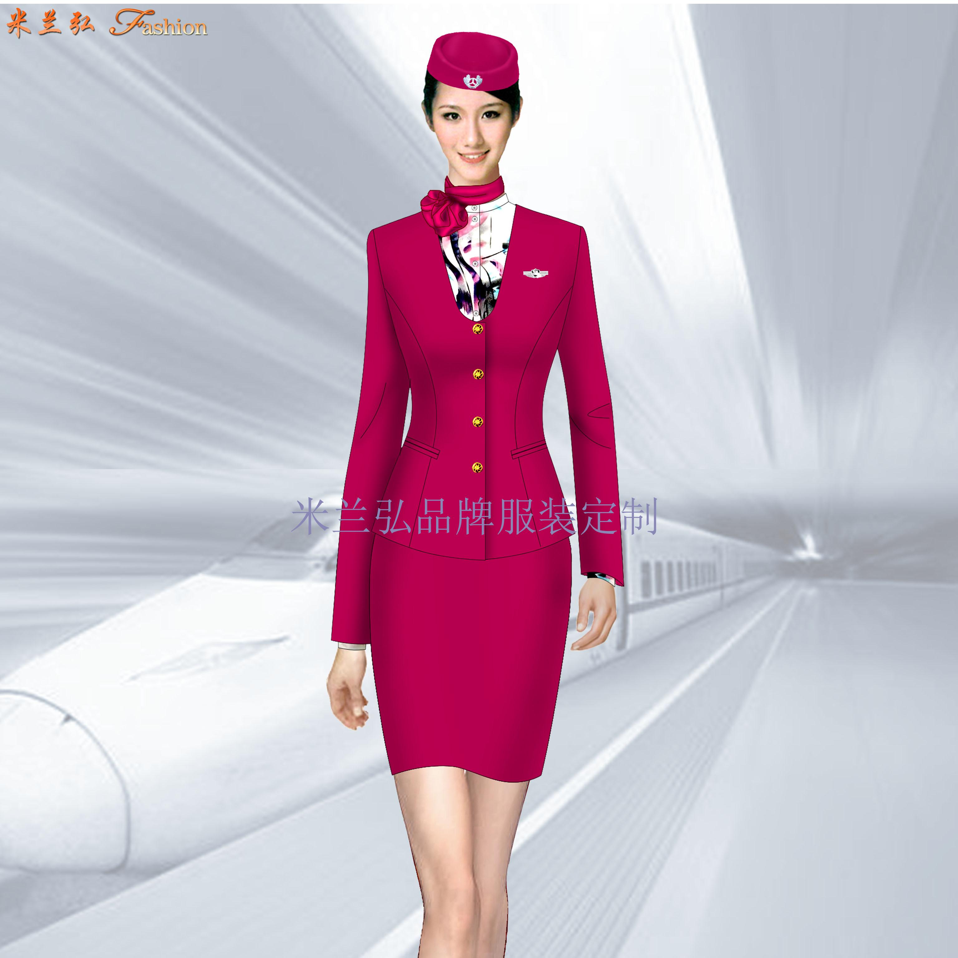 天津地鐵工作服定做_天津地鐵職業裝制服-米蘭弘服裝廠家-3