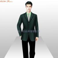 公司前臺職業裝定制_定制單位服裝-米蘭弘服裝廠家-5