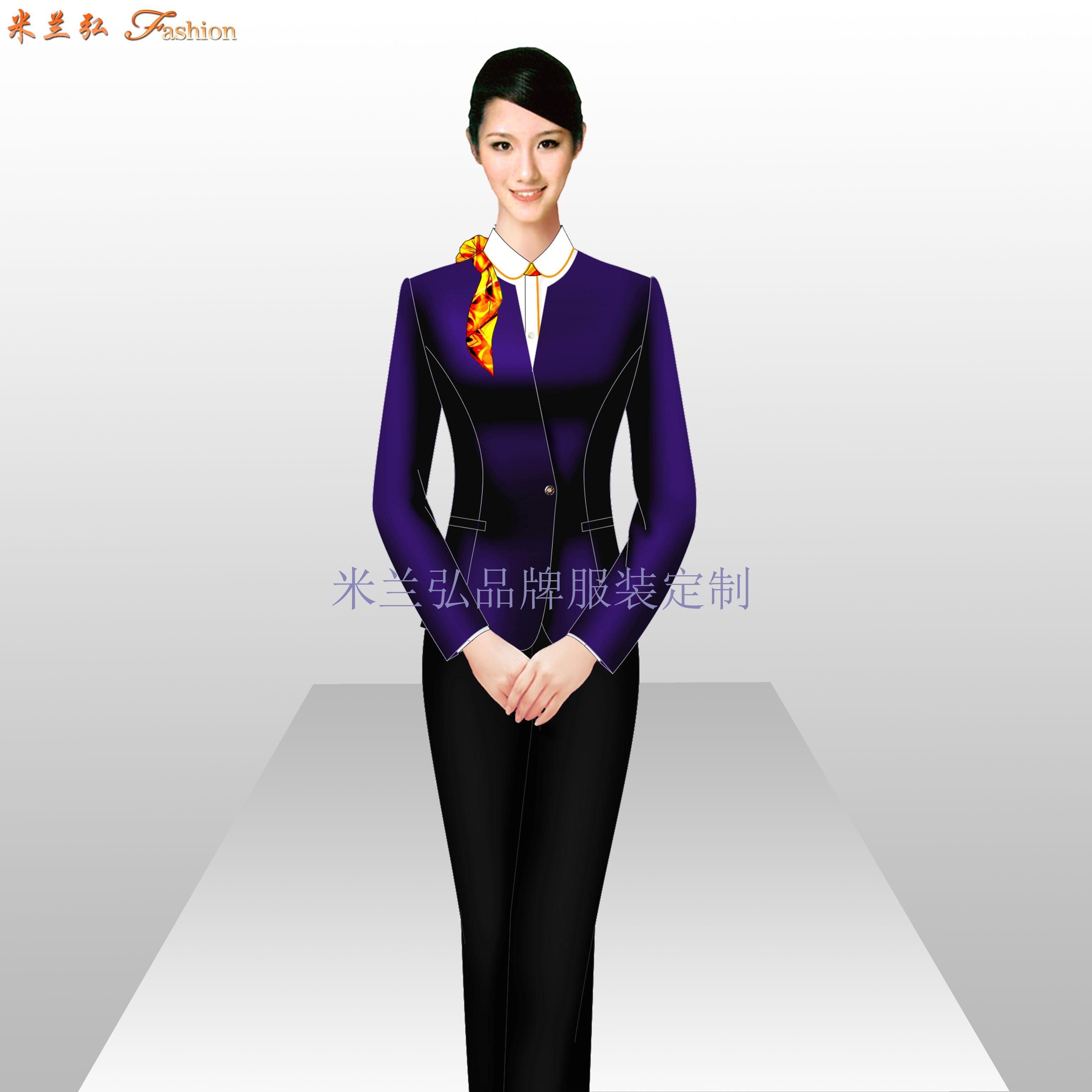 珠寶店工作服定做_工作服廠家訂做-米蘭弘服裝廠家-2
