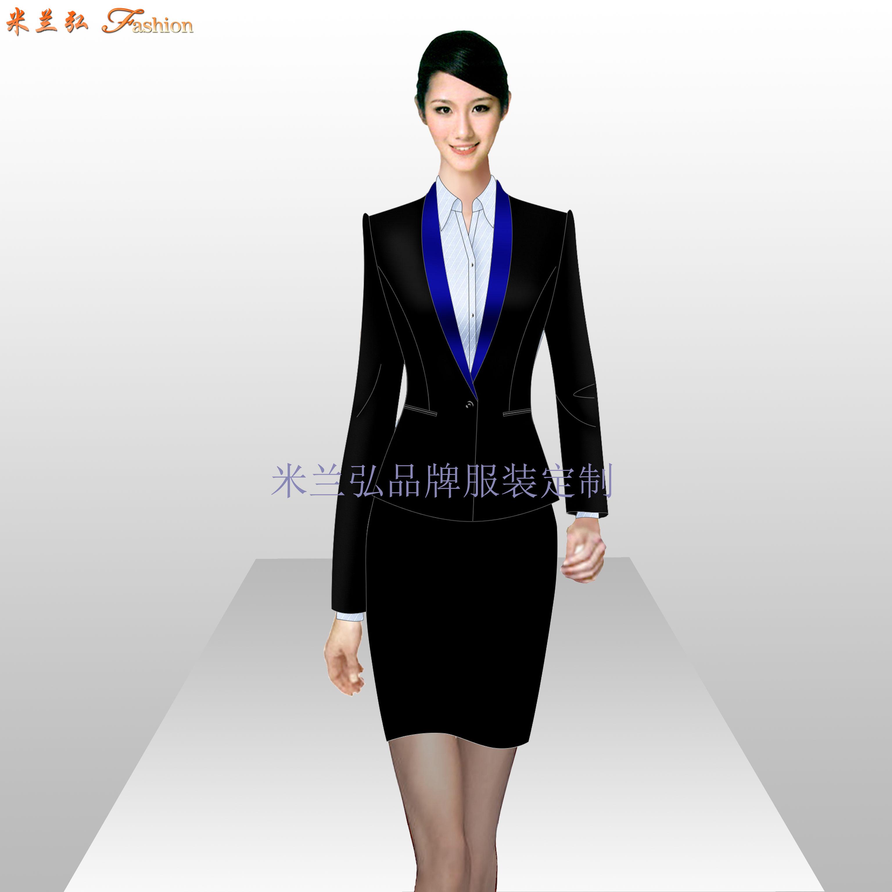珠寶店工作服定做_工作服廠家訂做-米蘭弘服裝廠家-3