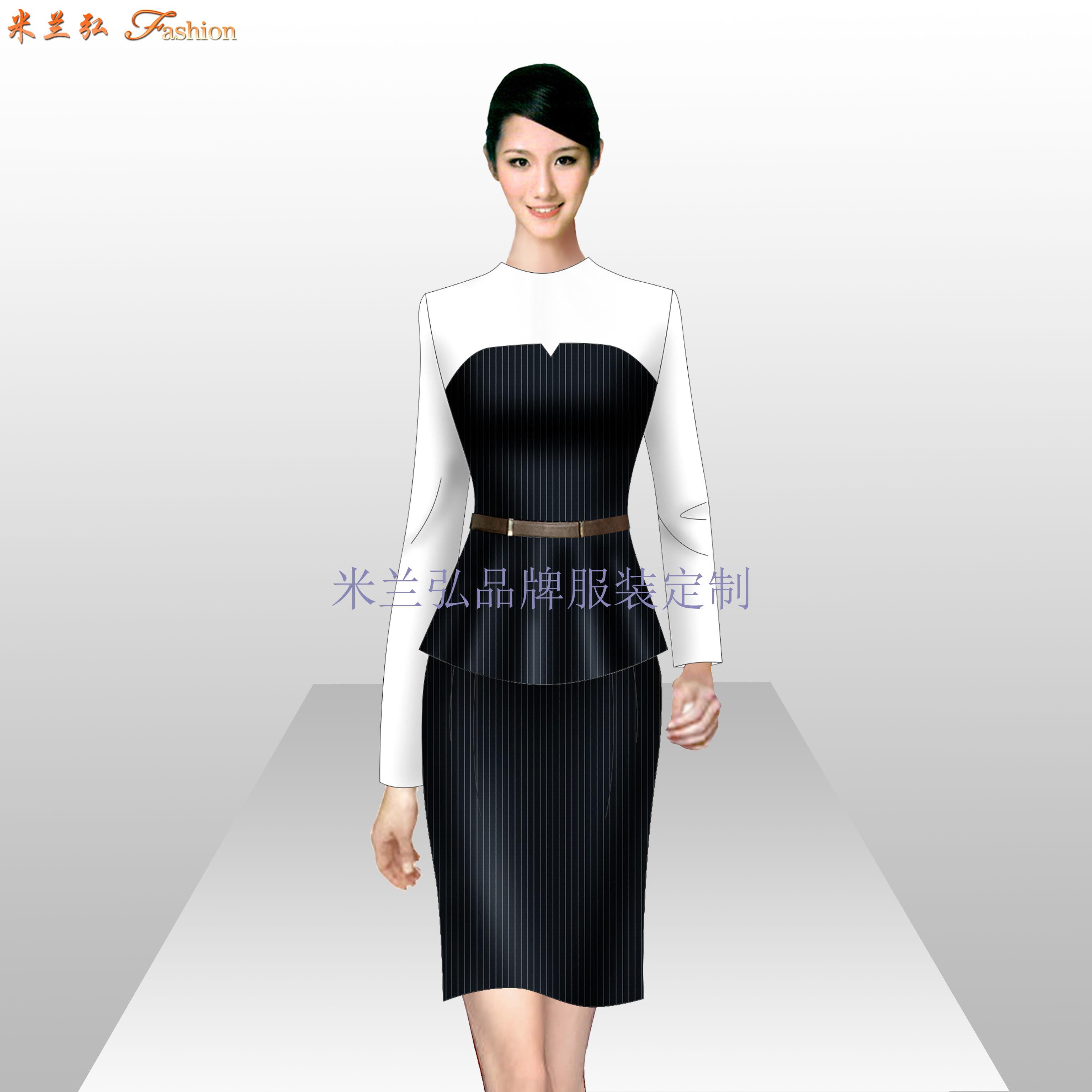 珠寶店工作服定做_工作服廠家訂做-米蘭弘服裝廠家-4