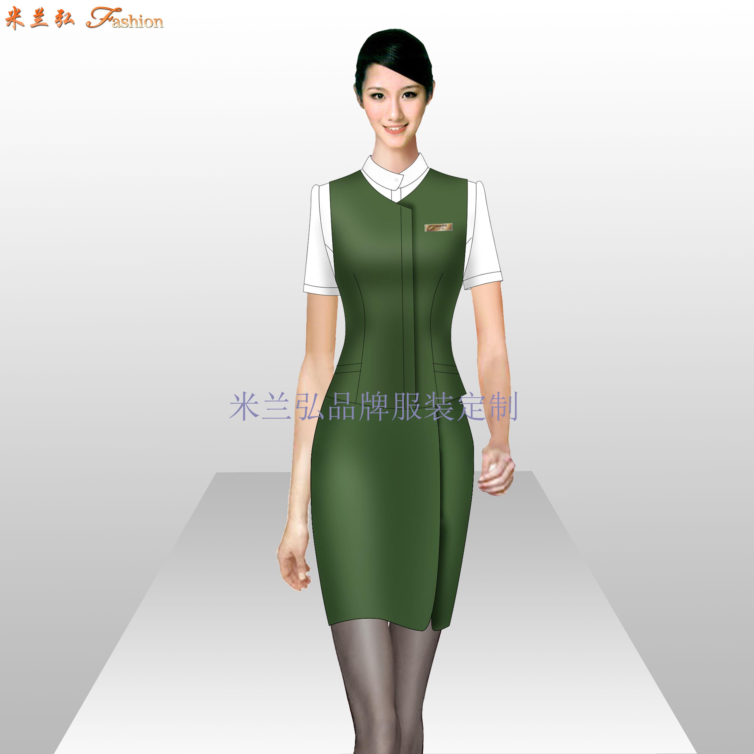 珠寶店工作服定做_工作服廠家訂做-米蘭弘服裝廠家-5