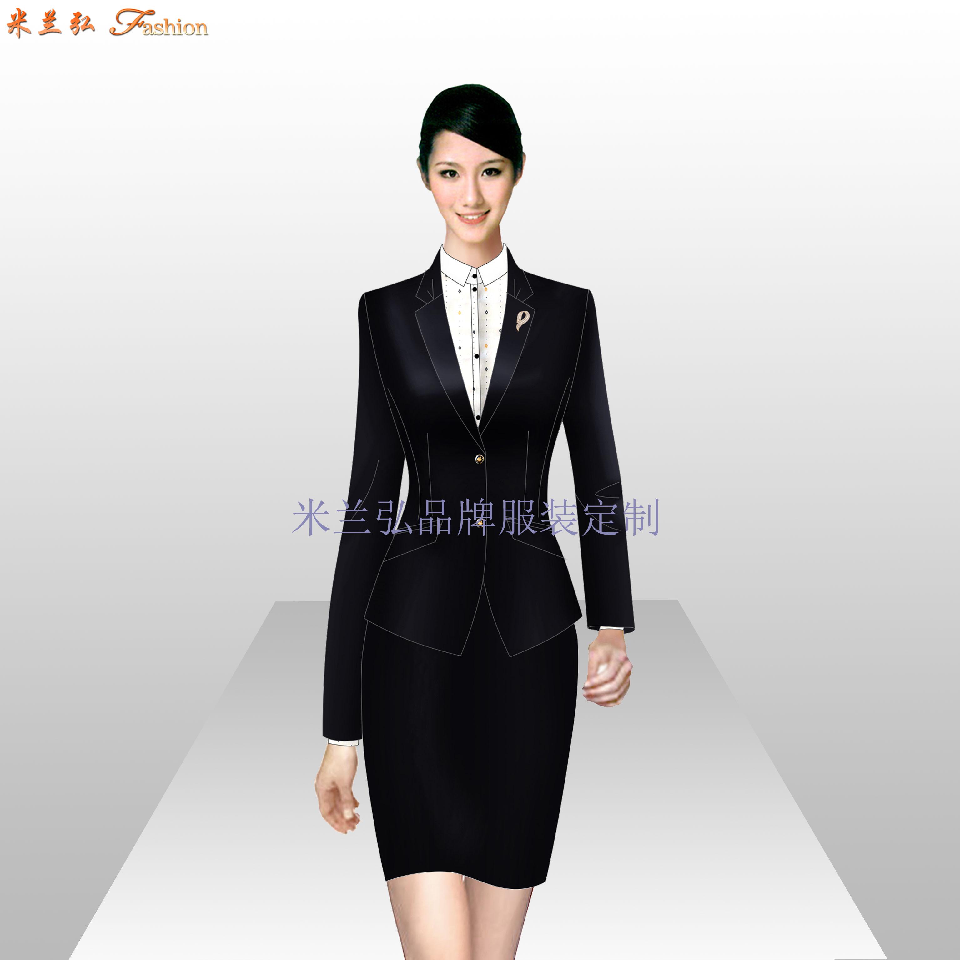 西城區西服定制_北京西城職業裝訂做-米蘭弘服裝廠家-1