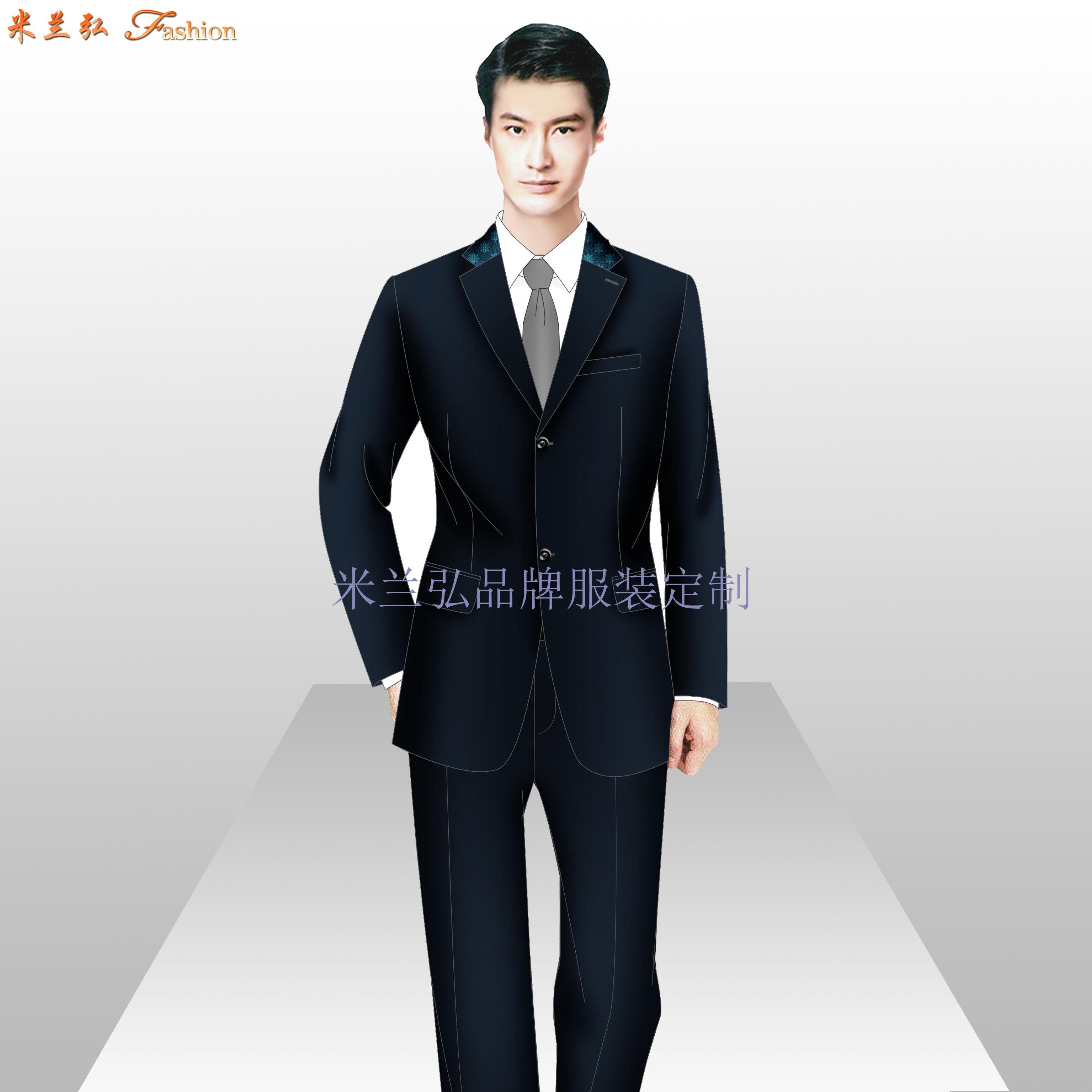 西城區西服定制_北京西城職業裝訂做-米蘭弘服裝廠家-2