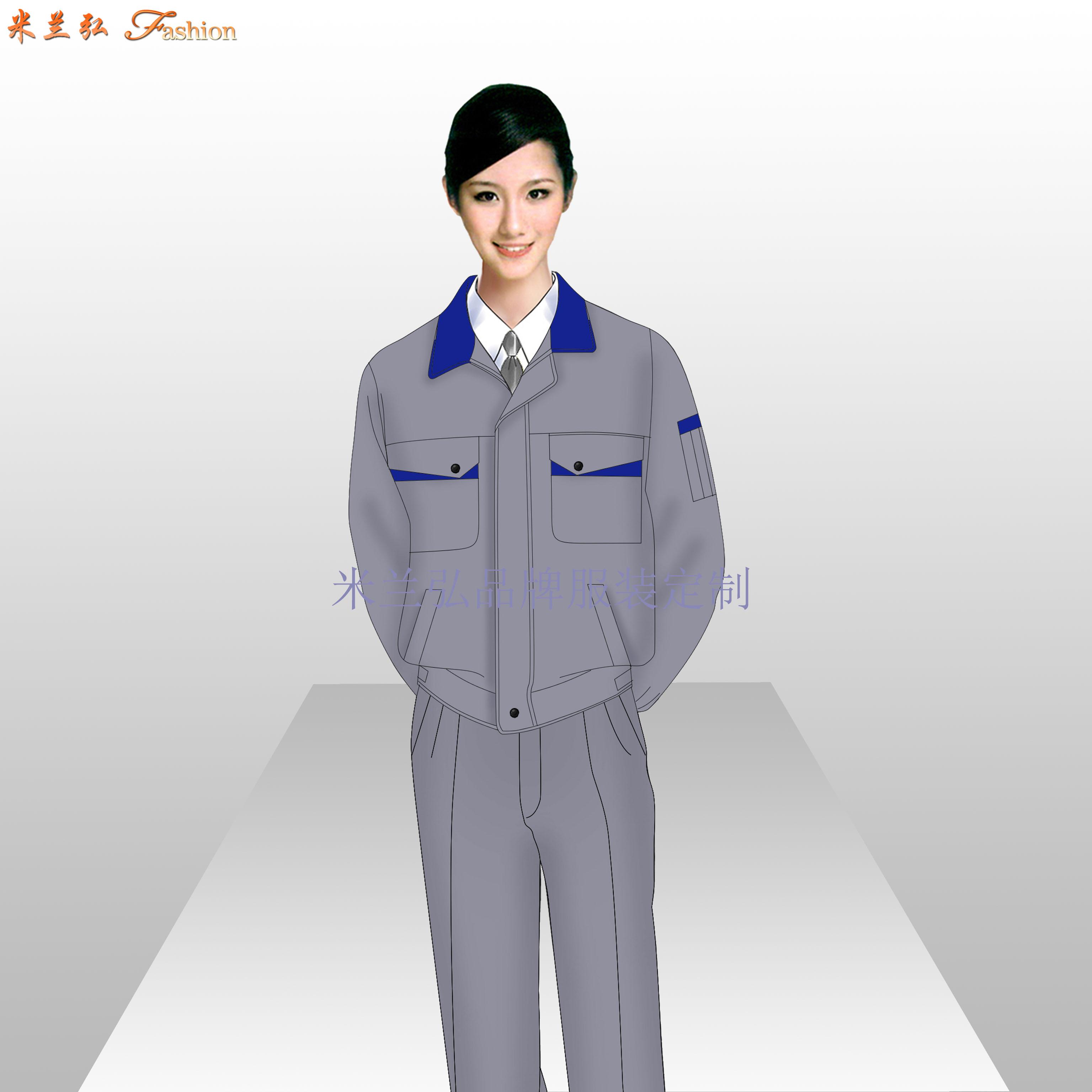 工作服定制源頭廠家_批發定制工作服-米蘭弘服裝-3