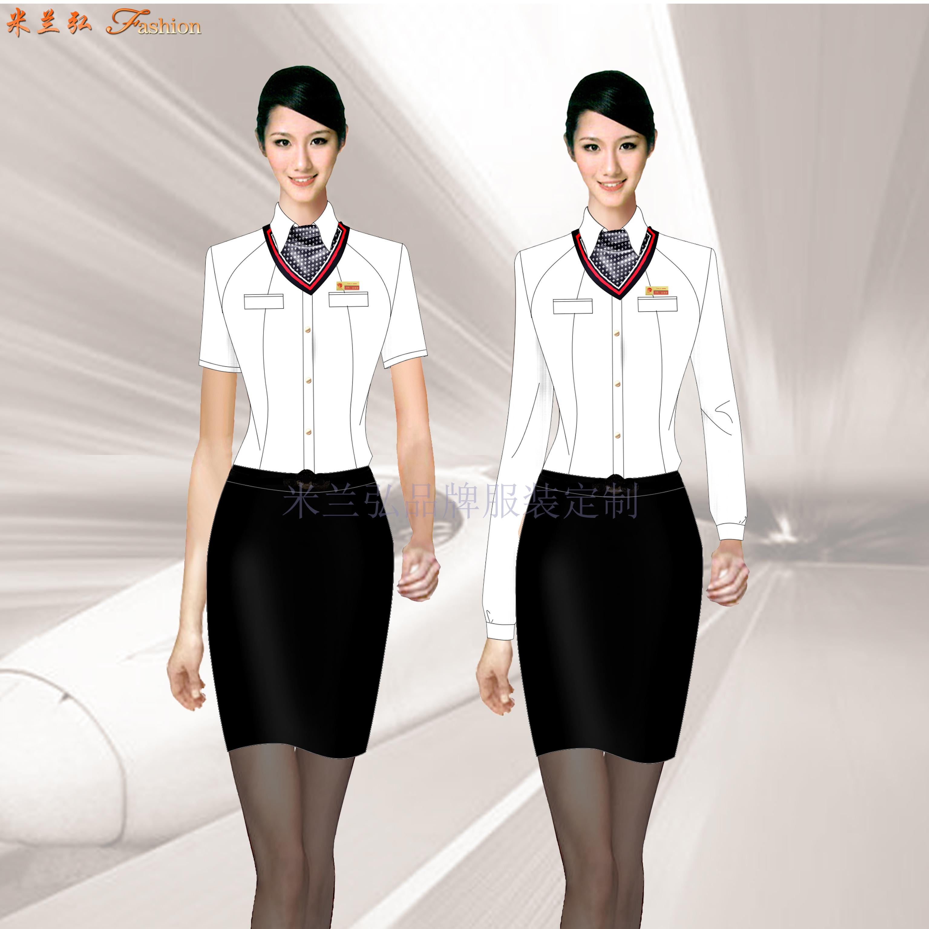 深圳寶安國際機場管理員行政西服定做-米蘭弘服裝廠家-2