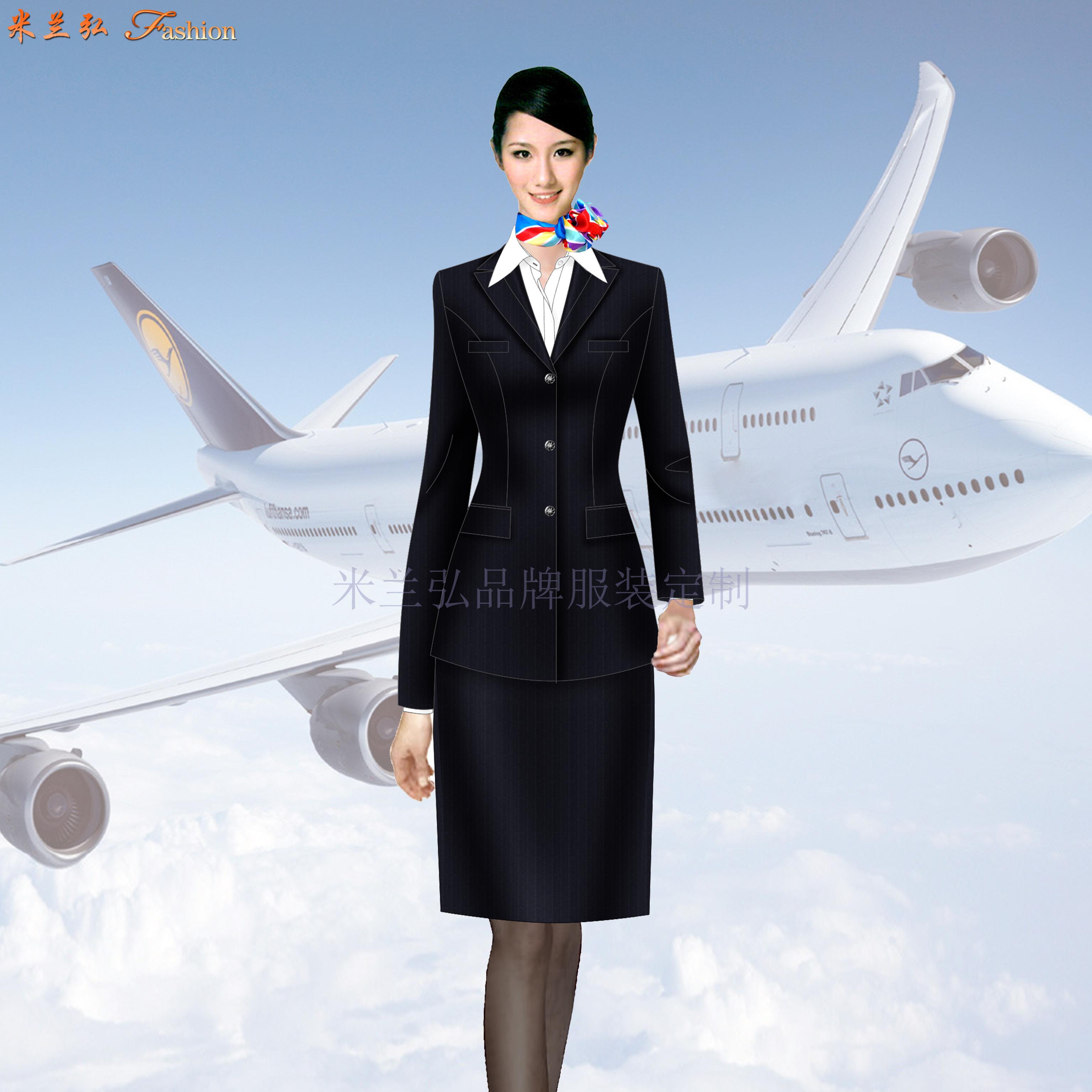 深圳寶安國際機場管理員行政西服定做-米蘭弘服裝廠家-4