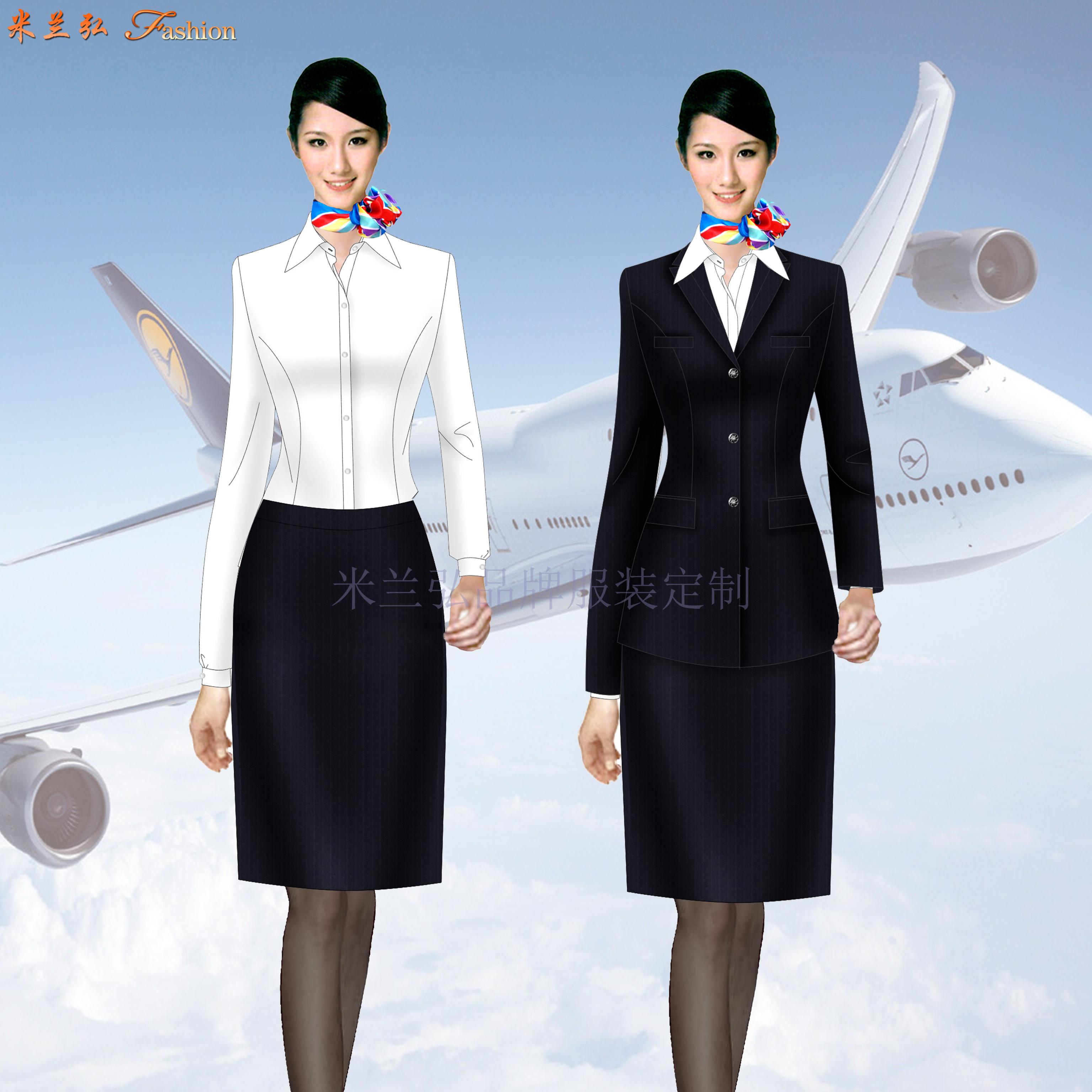 深圳寶安國際機場管理員行政西服定做-米蘭弘服裝廠家-5