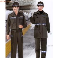 鐵路冬季工作服定做_鐵路維修工程服訂做-米蘭弘服裝廠家-3