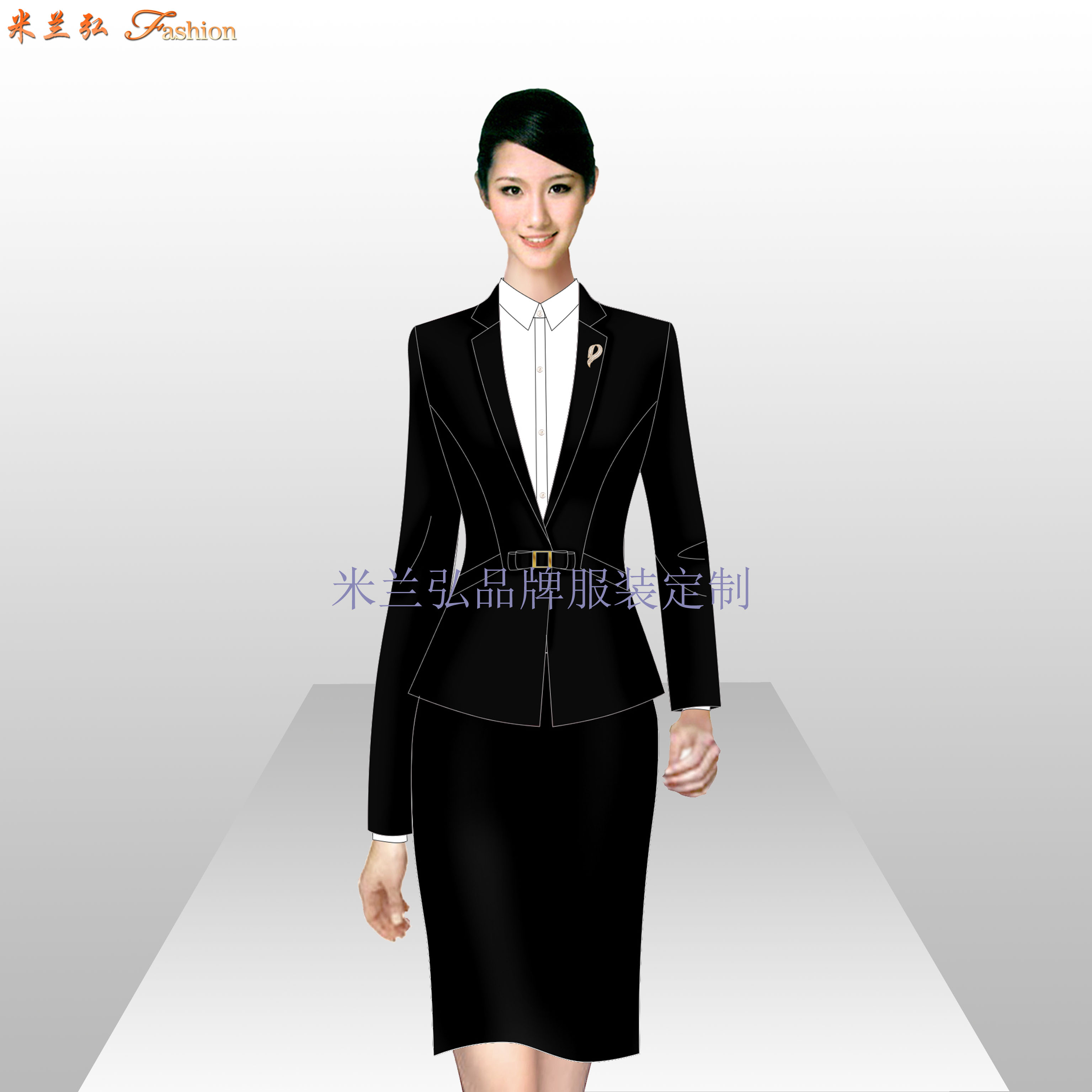 房山區西服定制_北京房山職業裝訂做-米蘭弘服裝廠家-2