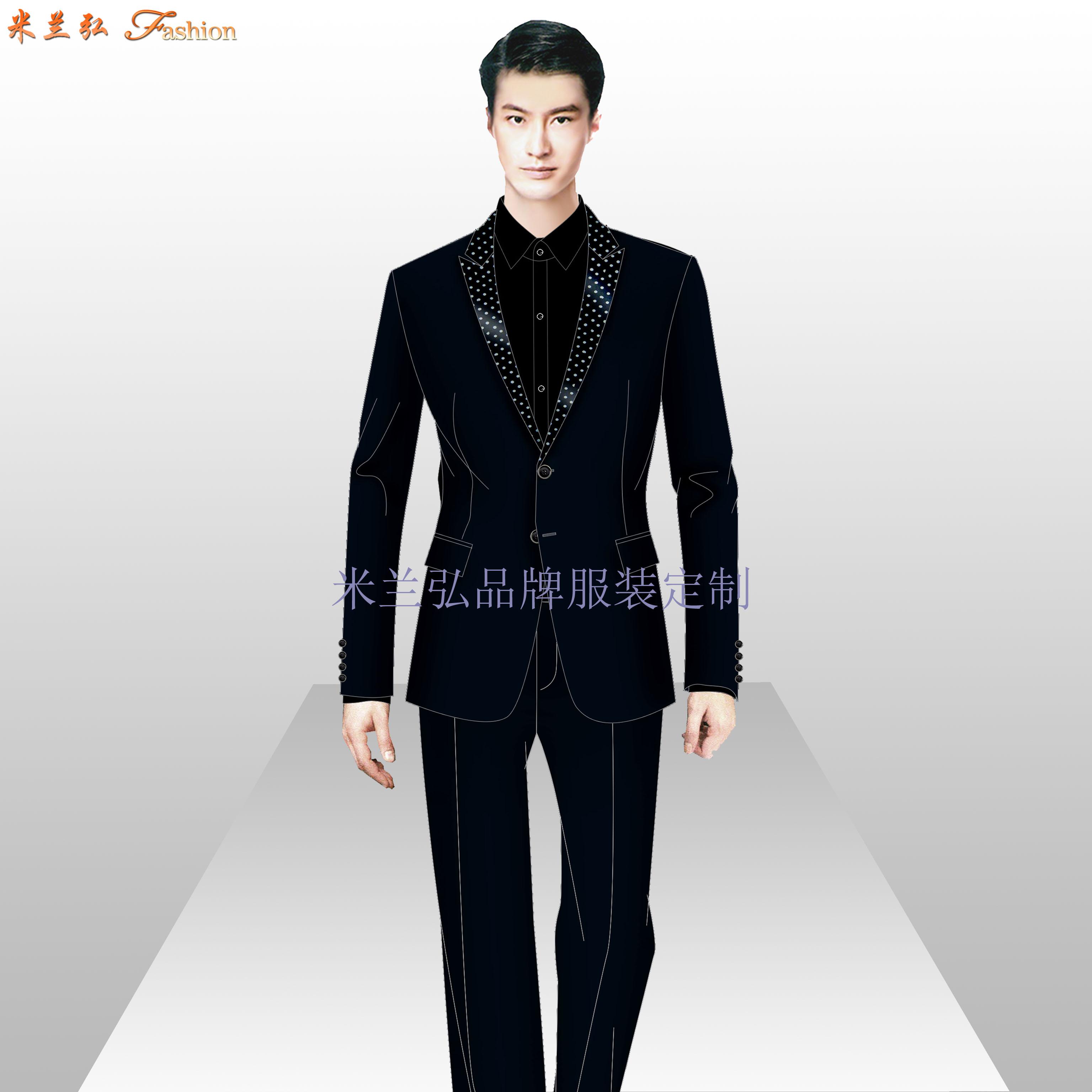 房山區西服定制_北京房山職業裝訂做-米蘭弘服裝廠家-5