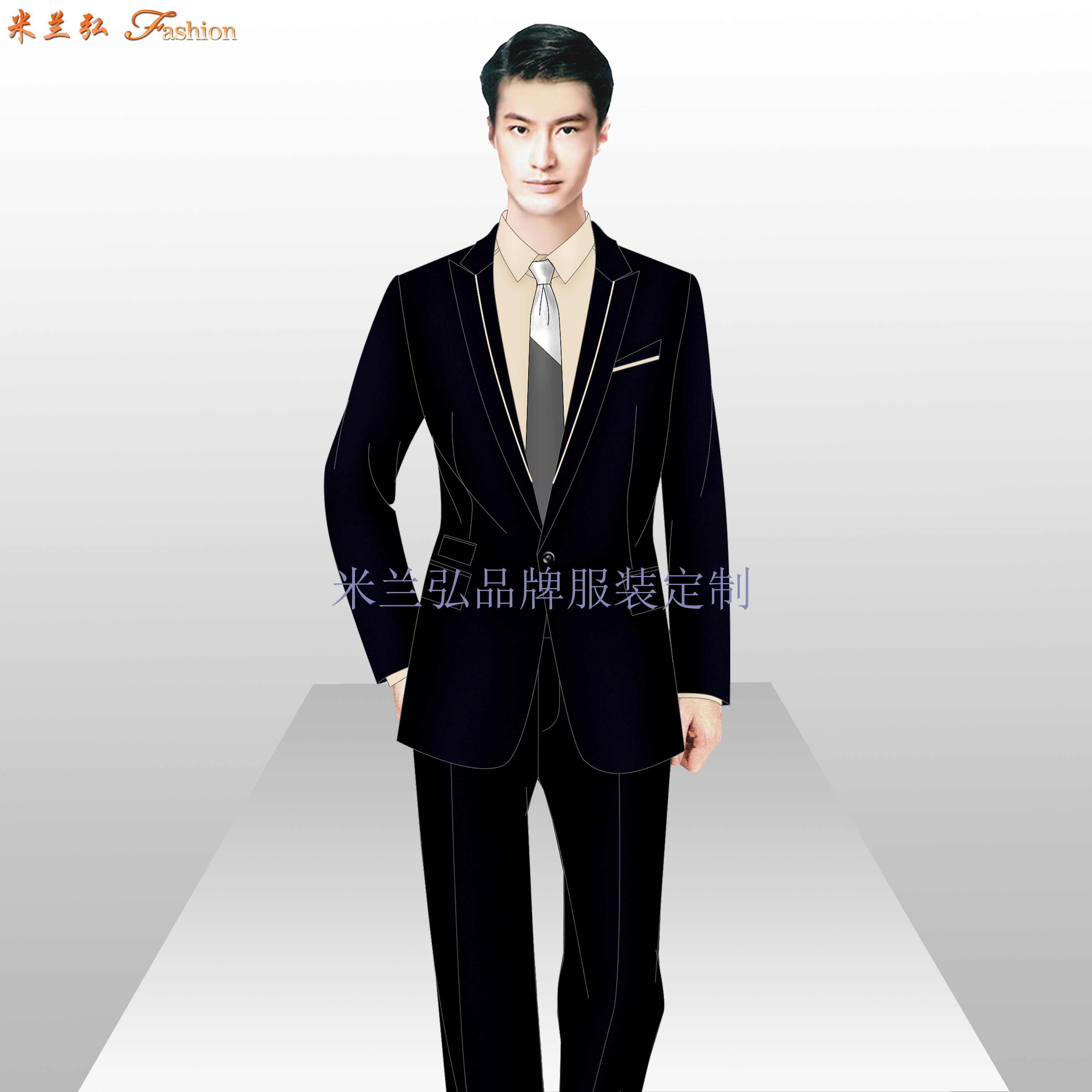 懷柔區西服定製_北京懷柔職業裝訂做-最新送体验金网站服裝廠家-5