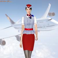 蘇州空姐服定制_航空機師職業裝訂制-米蘭弘廠家-2