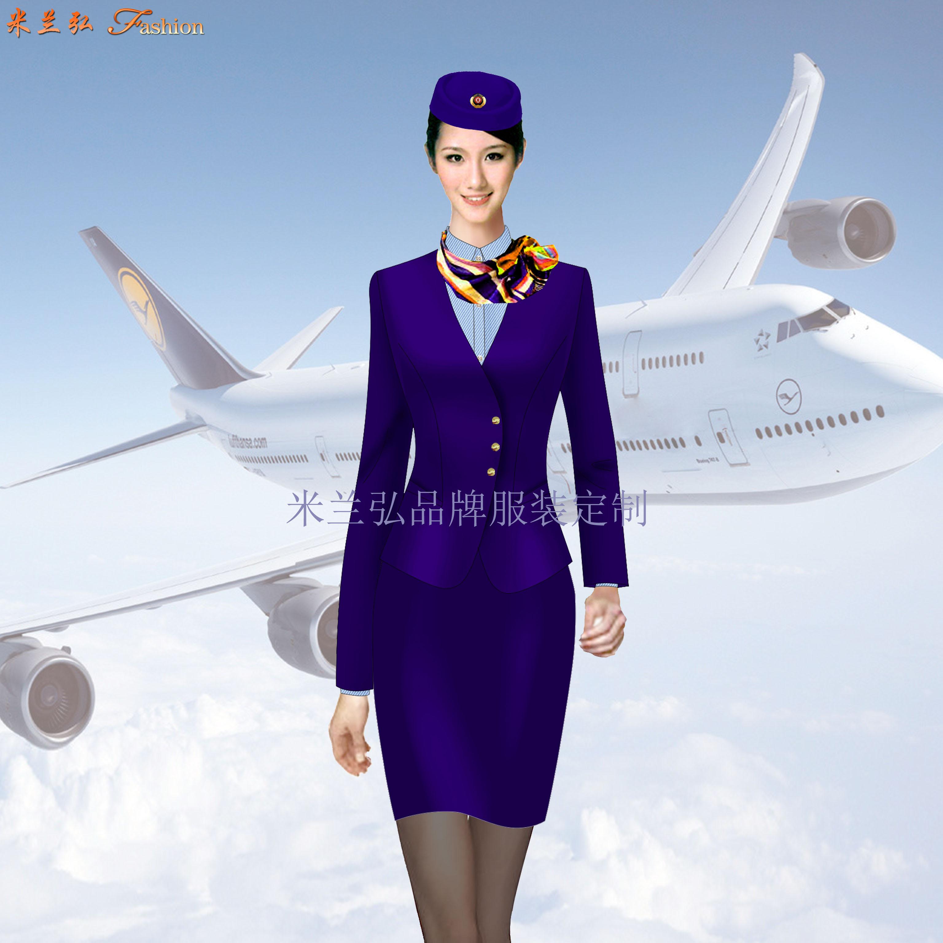 蘇州空姐服定制_航空機師職業裝訂制-米蘭弘廠家-3